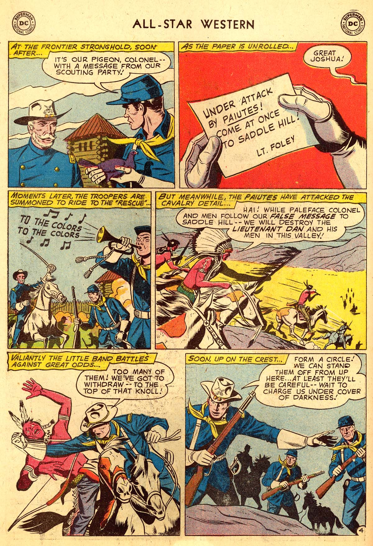 Read online All-Star Western (1951) comic -  Issue #110 - 18