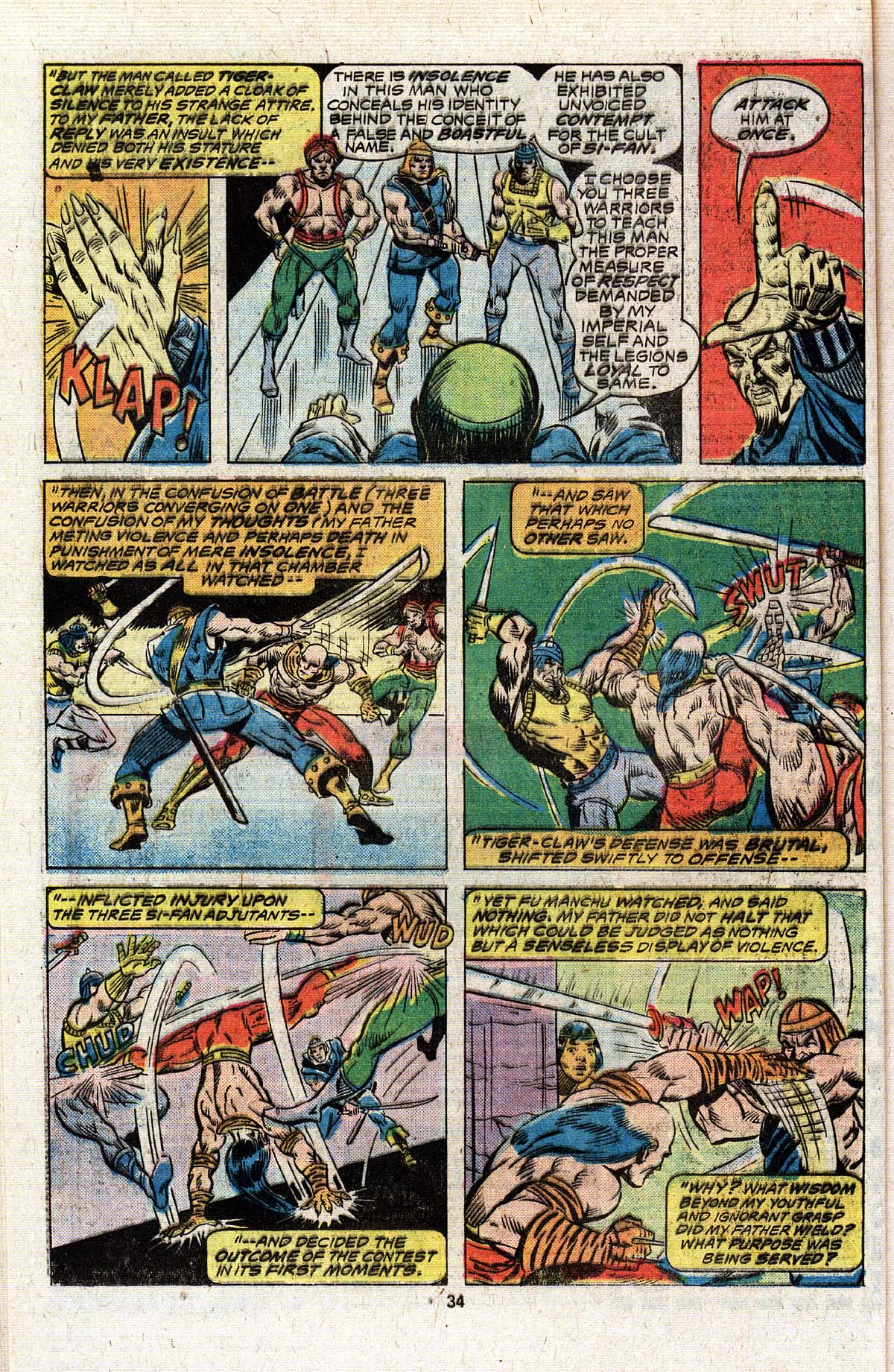 Read online Giant-Size Master of Kung Fu comic -  Issue #4 - 27