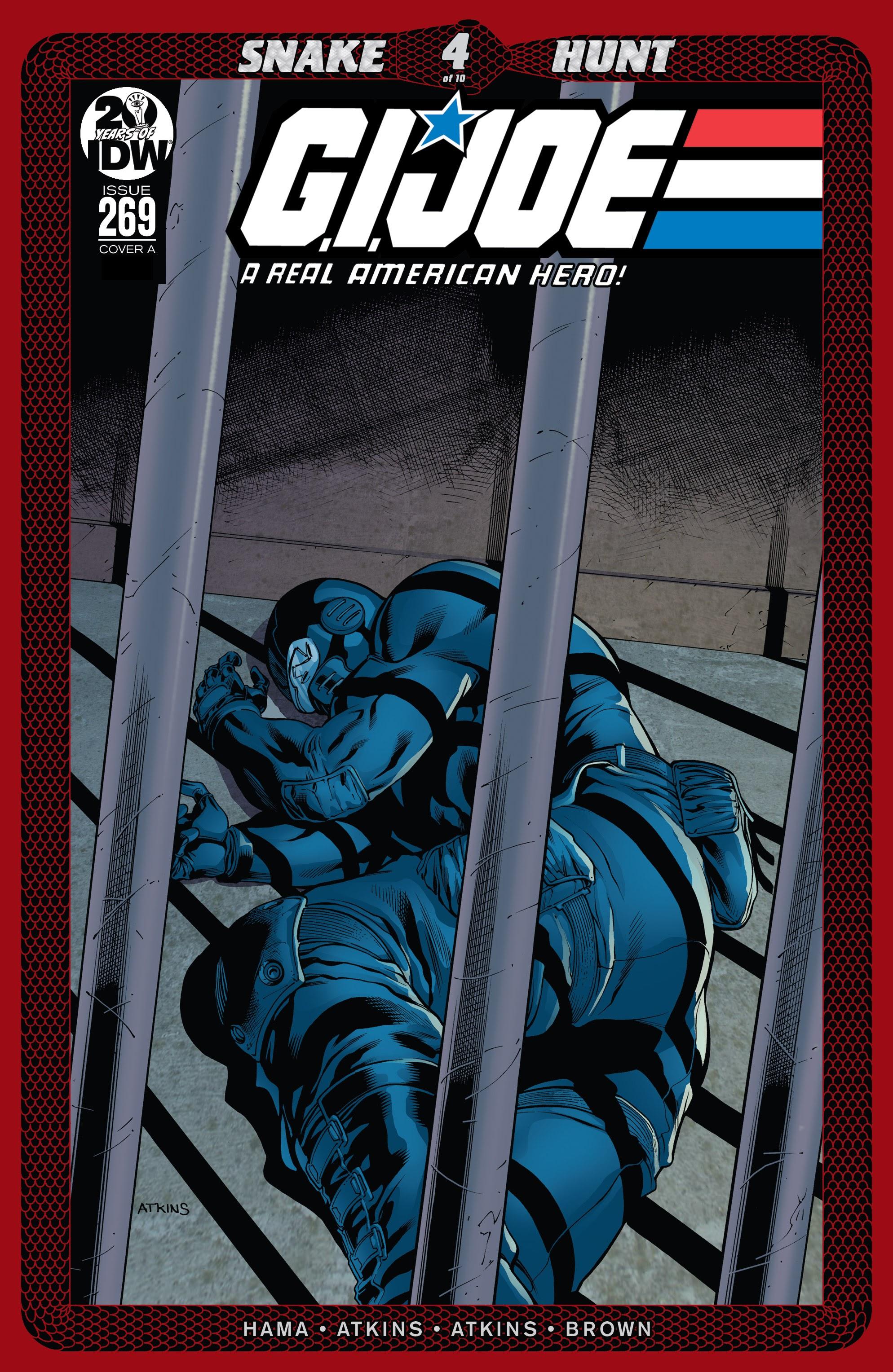 G.I. Joe: A Real American Hero 269 Page 1