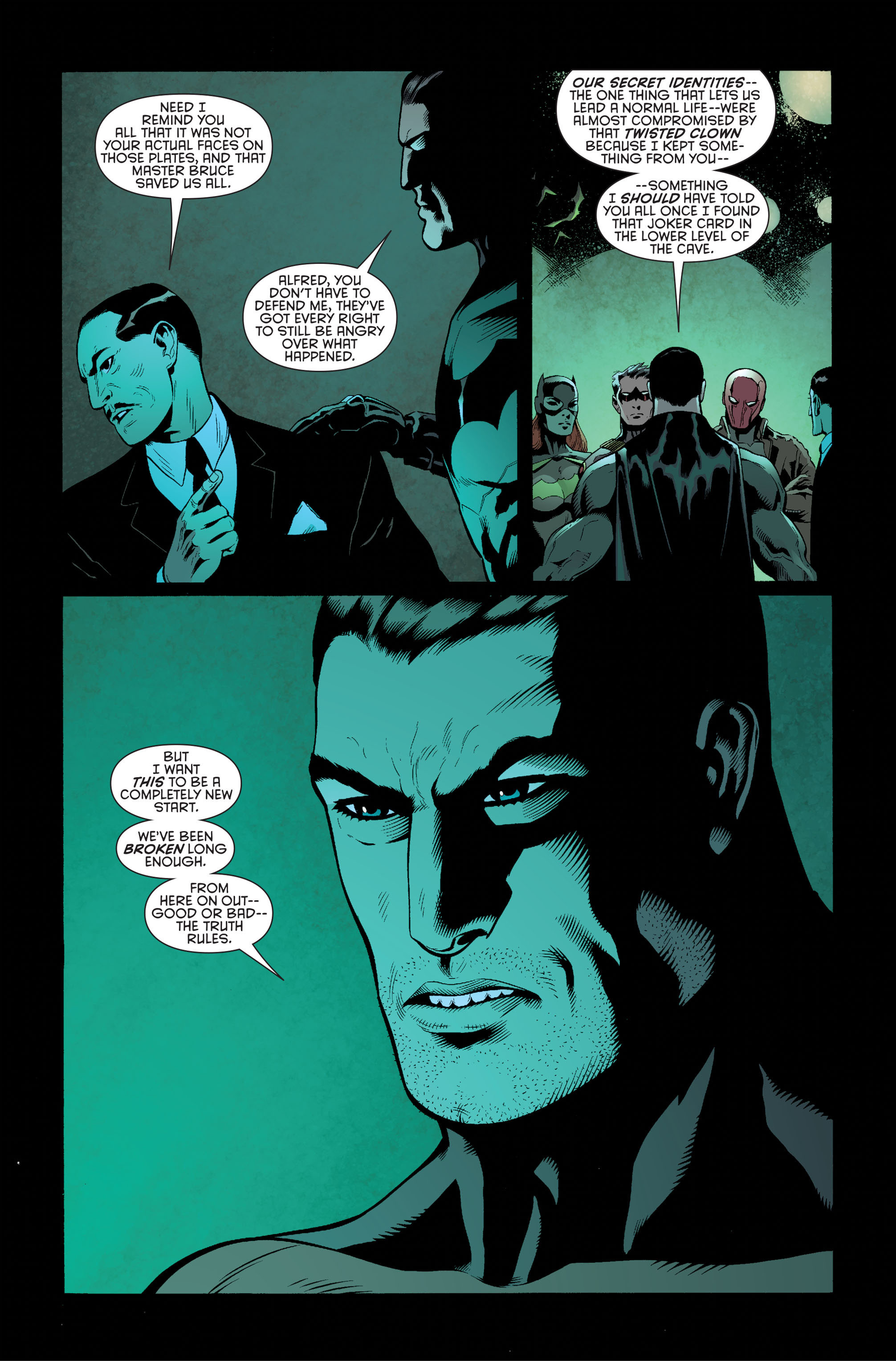 Read online Batman and Robin (2011) comic -  Issue #34 - 3