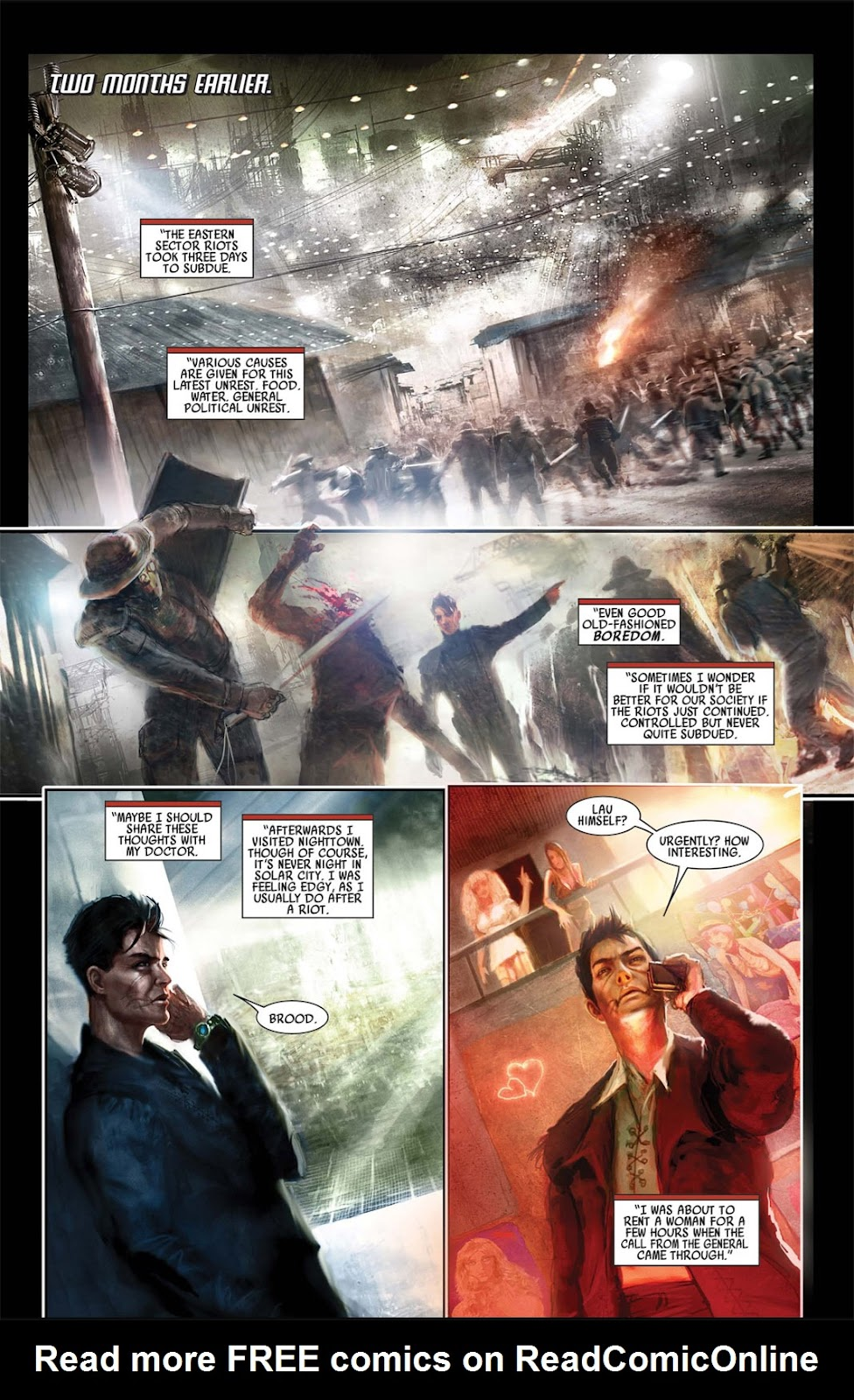 Read online After Dark comic -  Issue #1 - 6