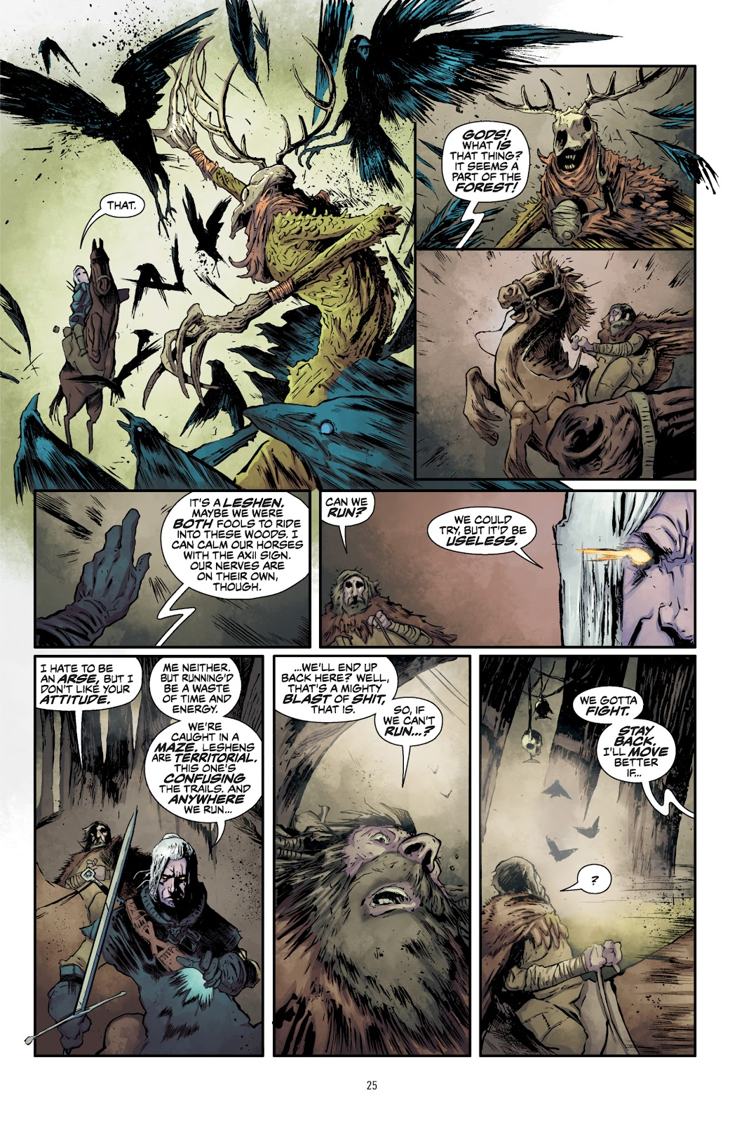 Read online The Witcher Omnibus comic -  Issue # TPB (Part 1) - 26