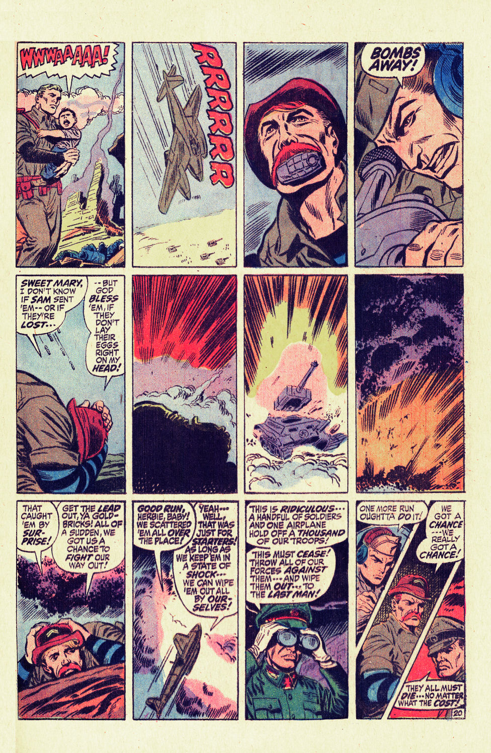 Read online Sgt. Fury comic -  Issue #96 - 29