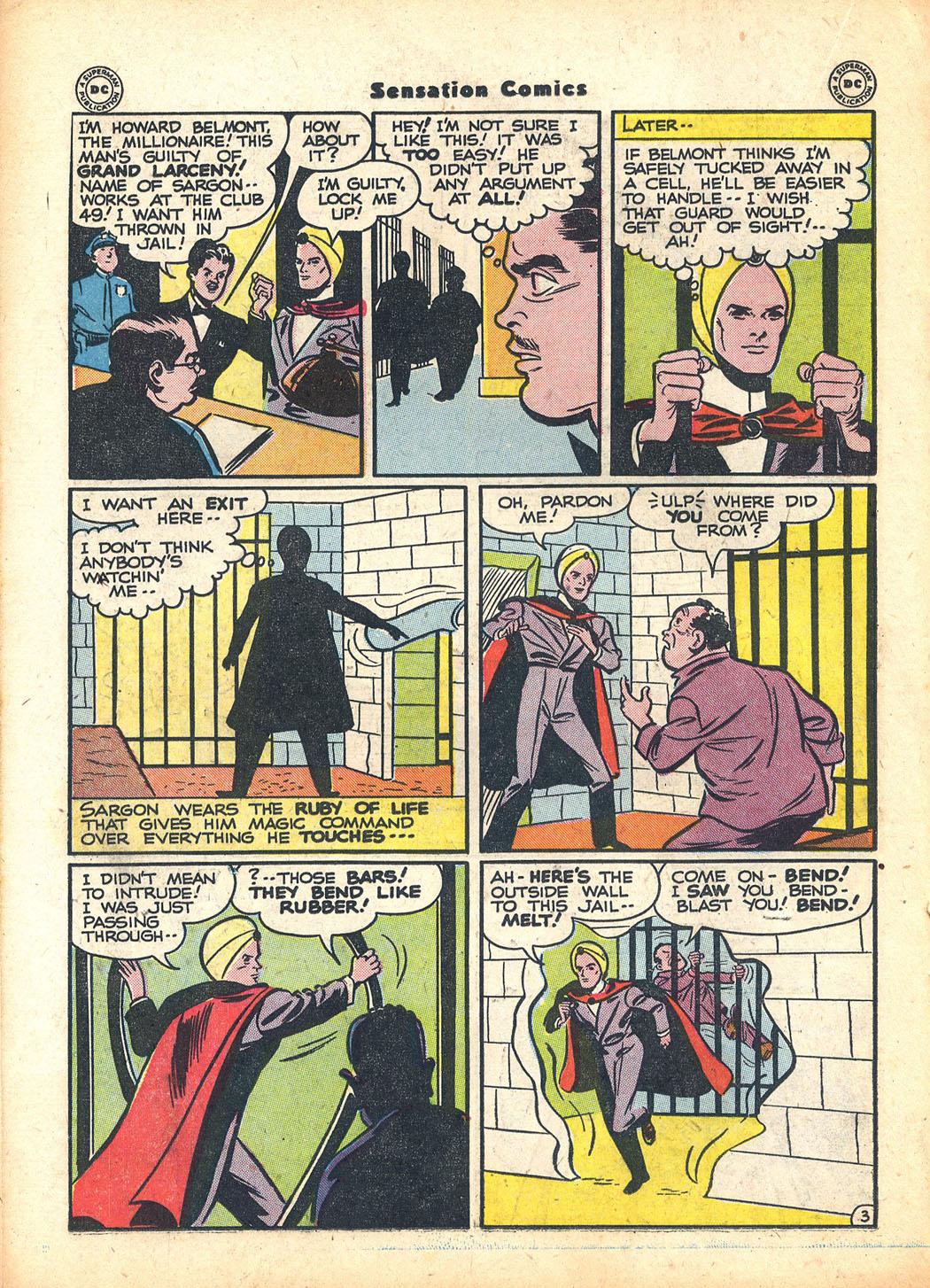 Read online Sensation (Mystery) Comics comic -  Issue #63 - 26
