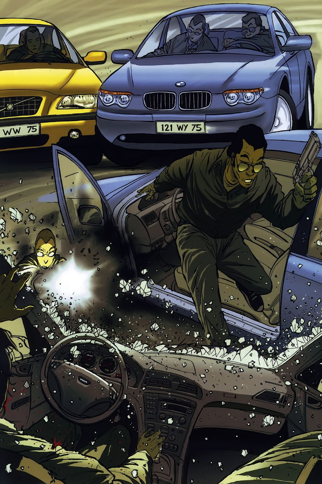 Read online The Killer comic -  Issue #8 - 17