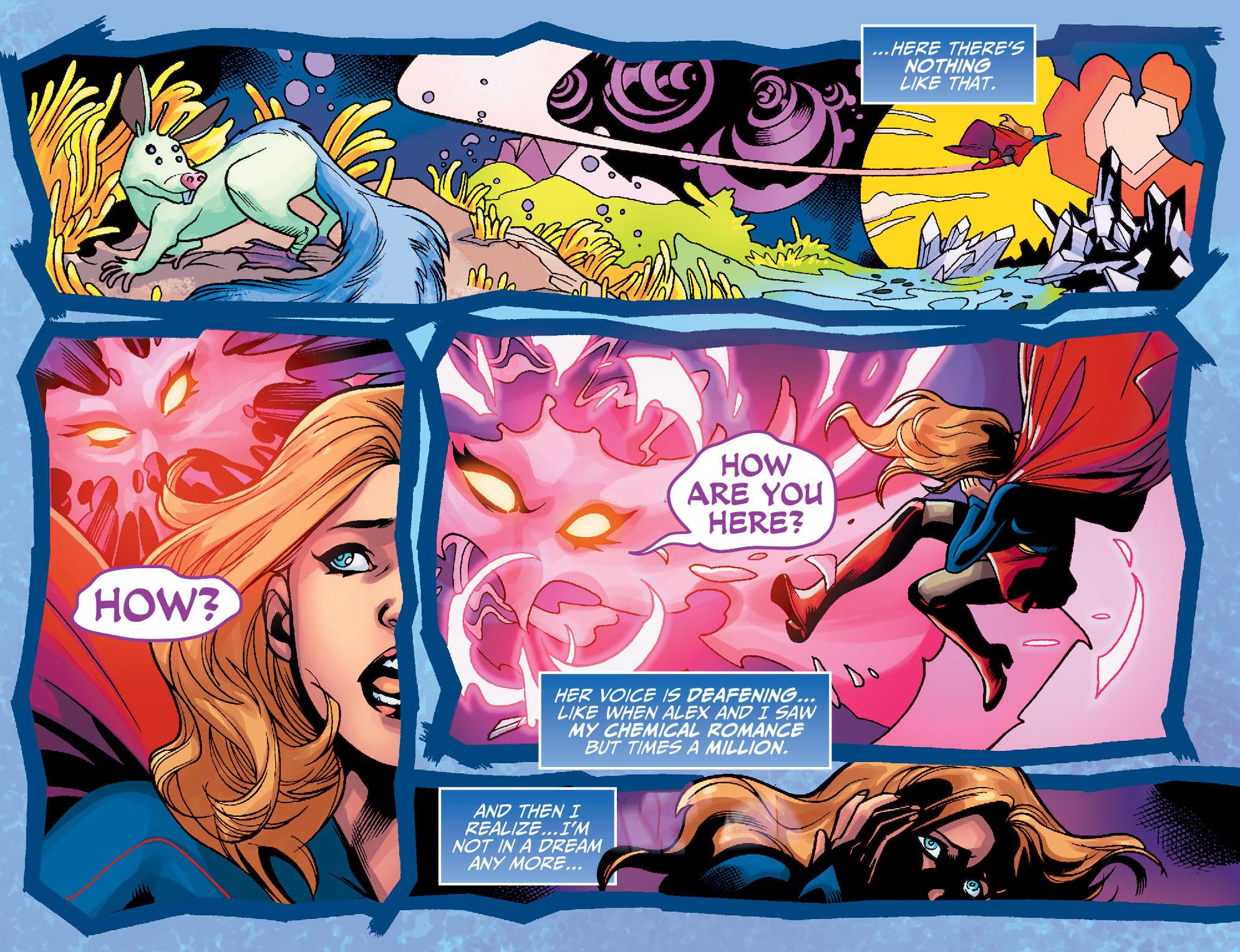 Read online Adventures of Supergirl comic -  Issue #7 - 12