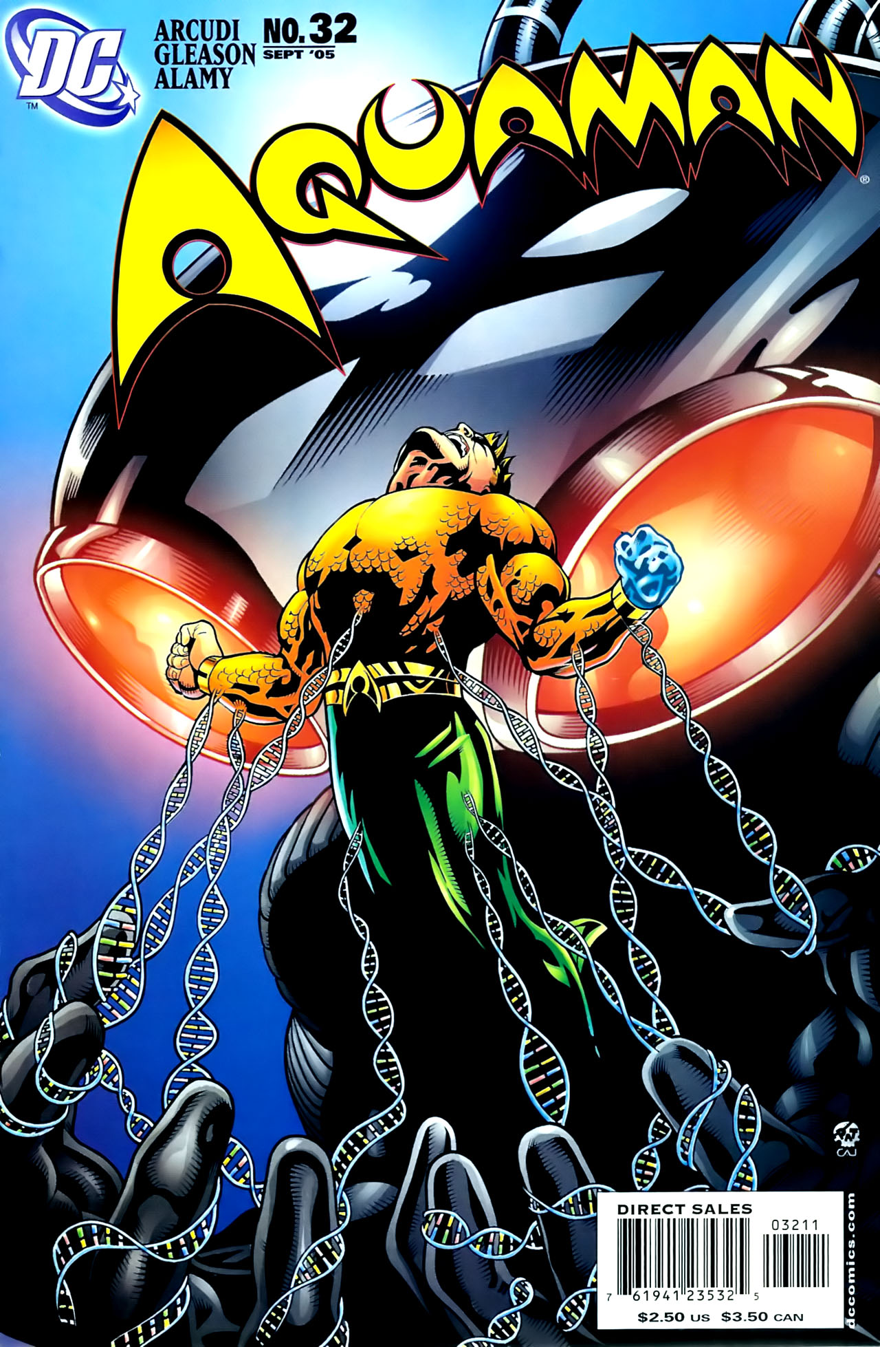 Read online Aquaman (2003) comic -  Issue #32 - 1
