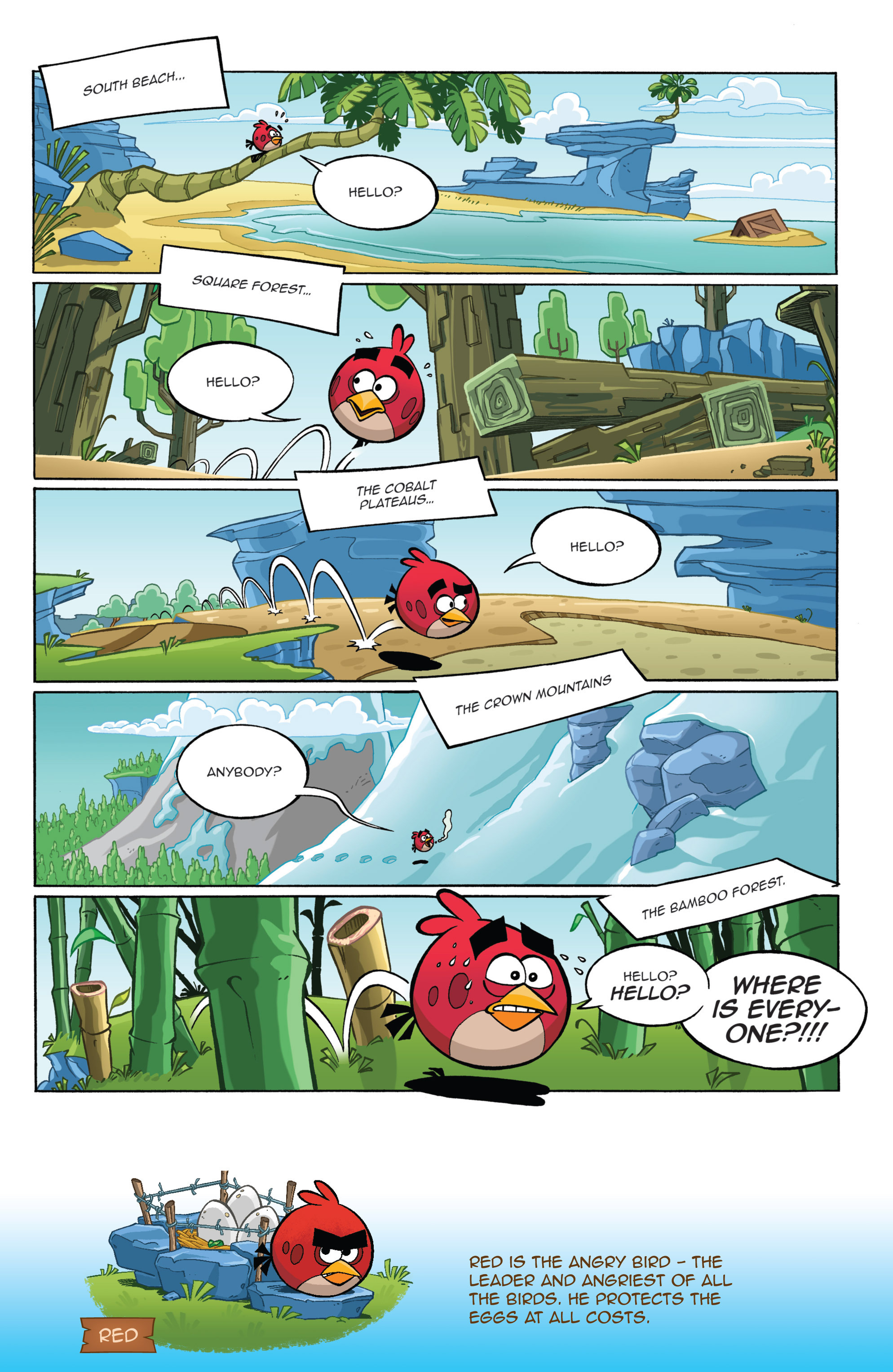 Read online Angry Birds Comics (2016) comic -  Issue #1 - 6