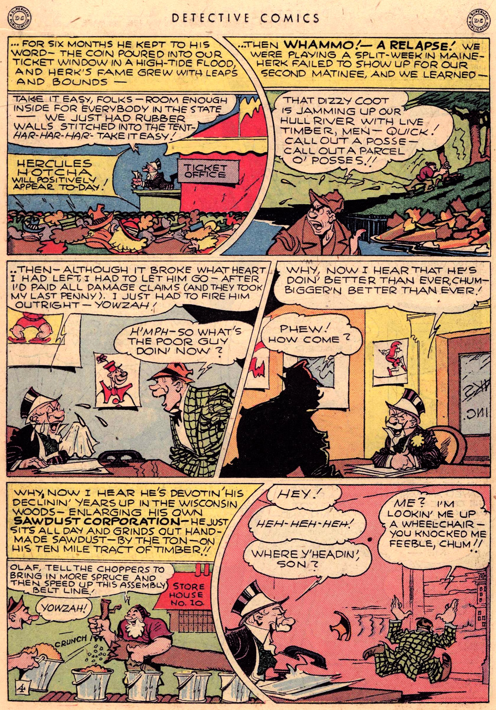 Read online Detective Comics (1937) comic -  Issue #95 - 20