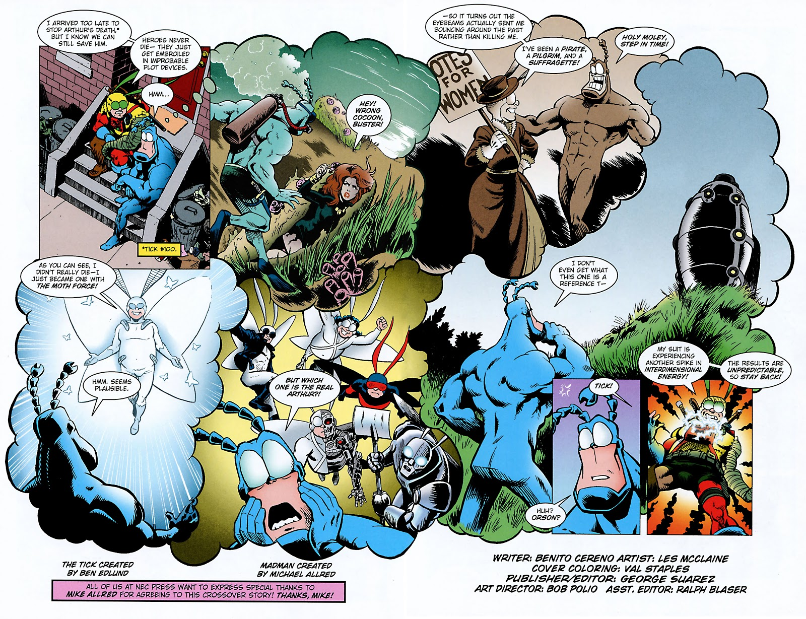 Read online The Tick comic -  Issue #101 - 6