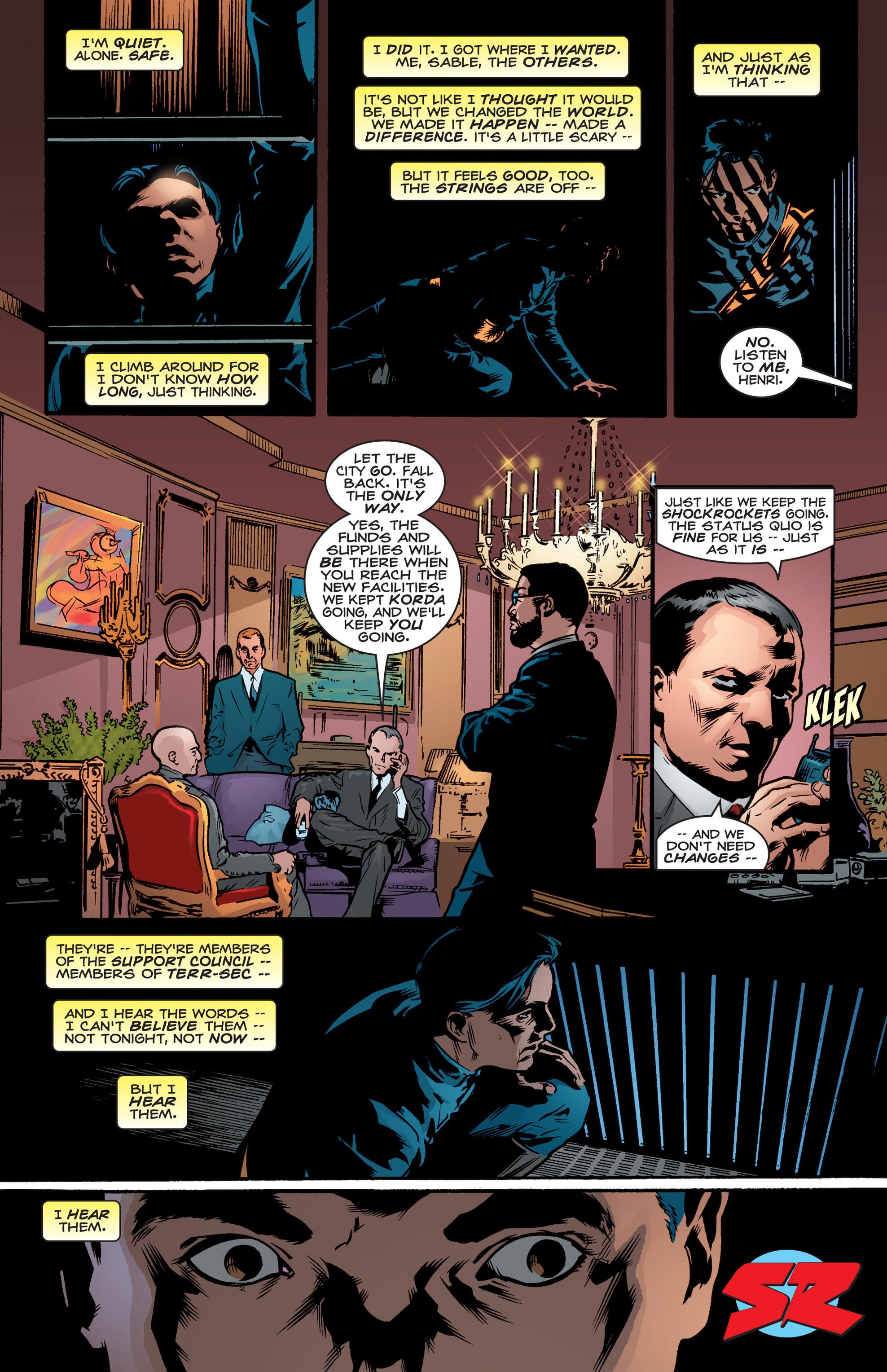 Read online Shockrockets comic -  Issue # TPB - 149