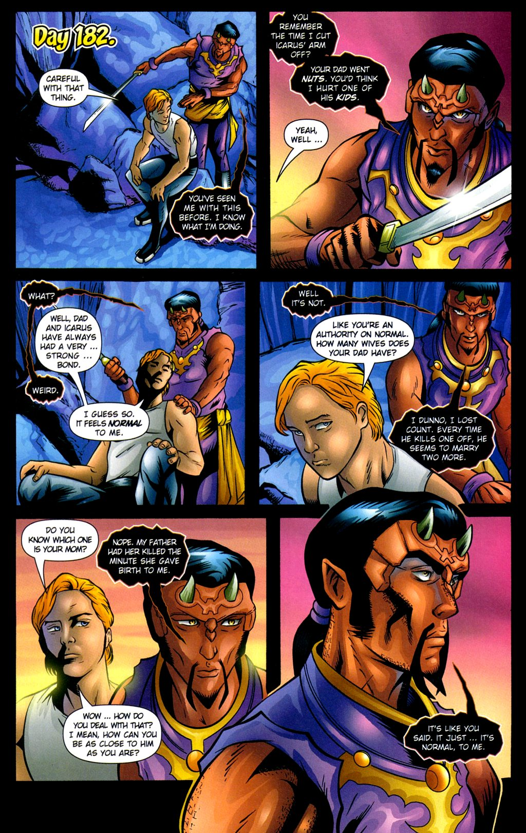 Read online Noble Causes (2002) comic -  Issue #3 - 22