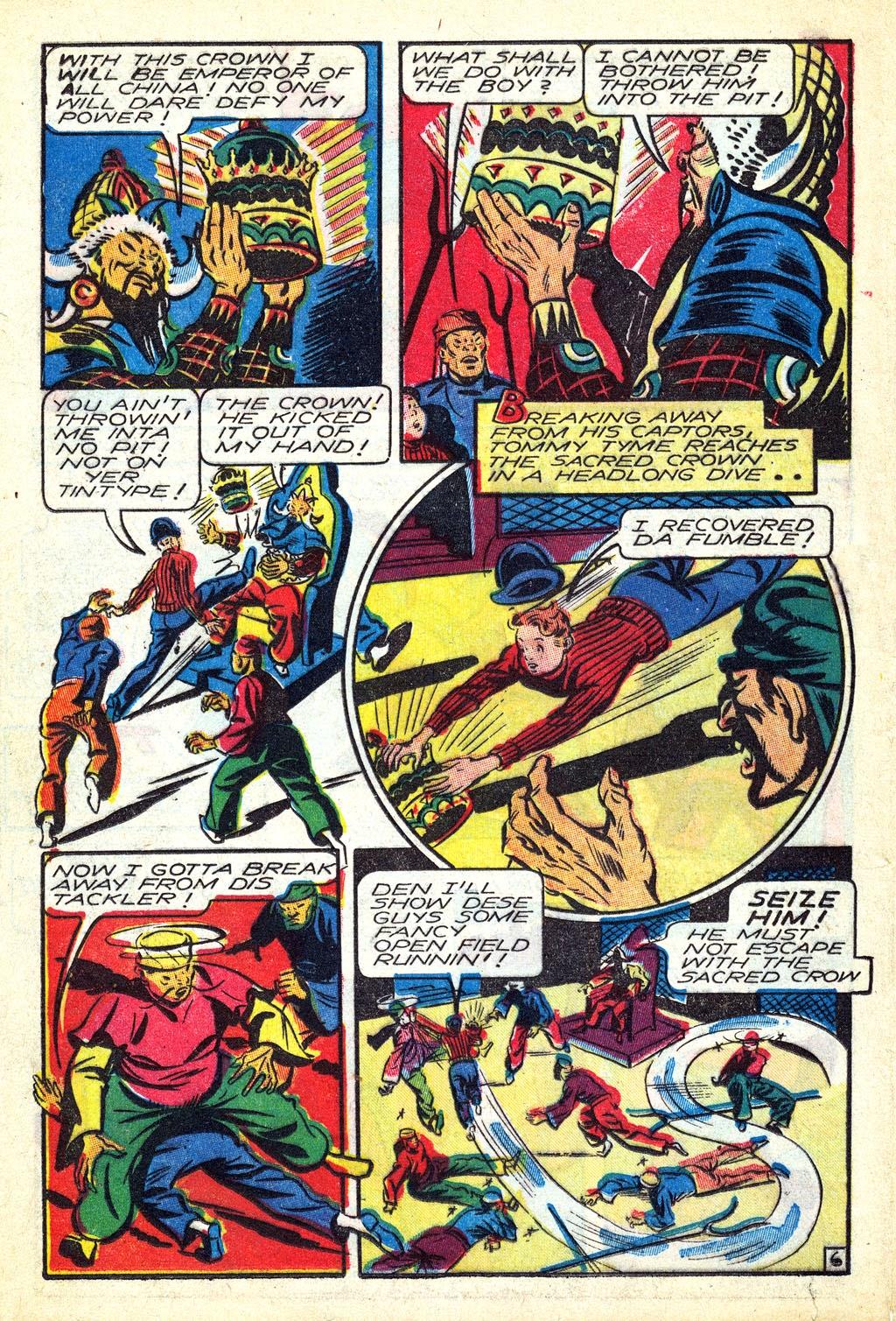 Read online Mystic Comics (1944) comic -  Issue #3 - 24