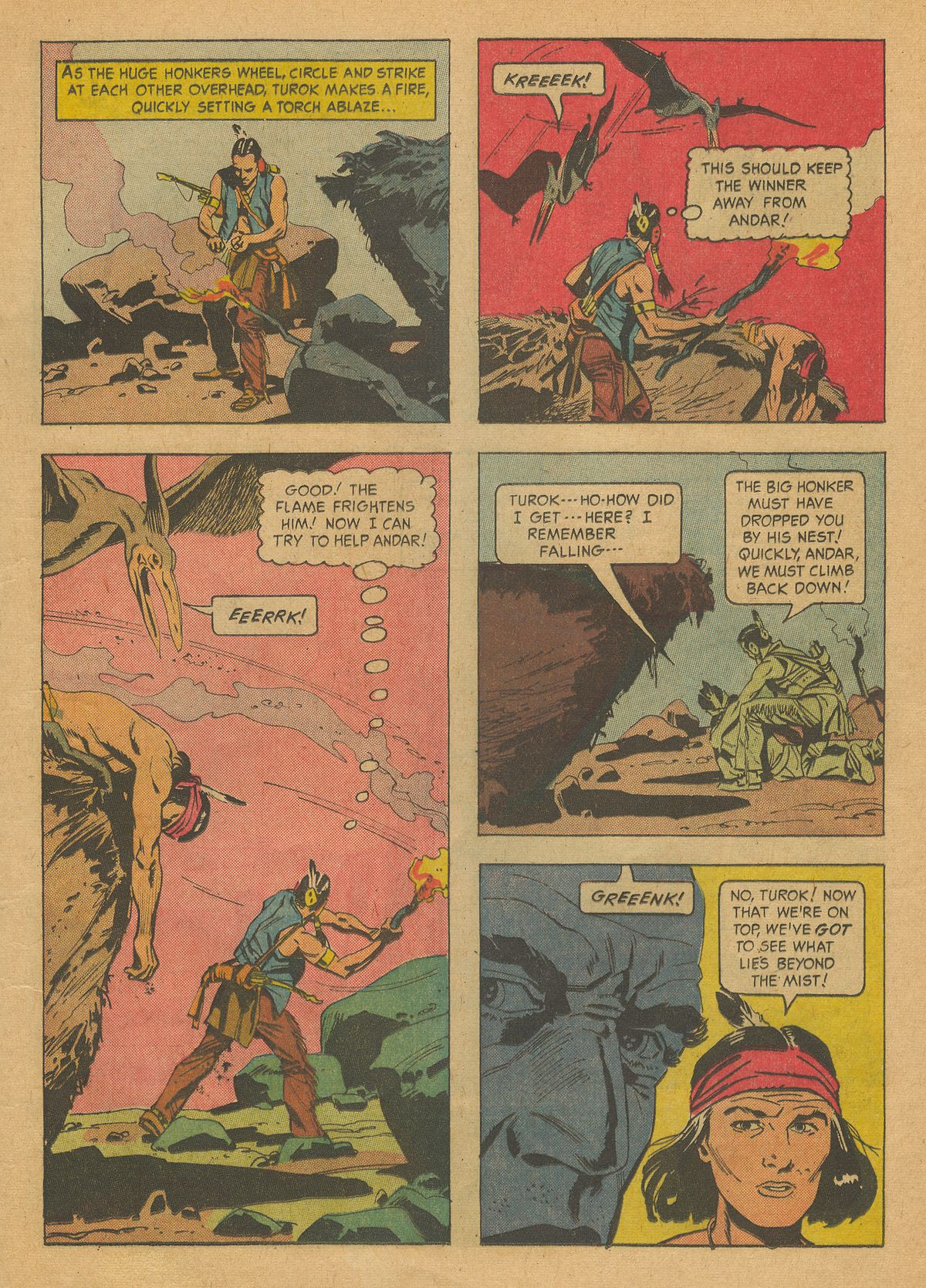 Read online Turok, Son of Stone comic -  Issue #37 - 13