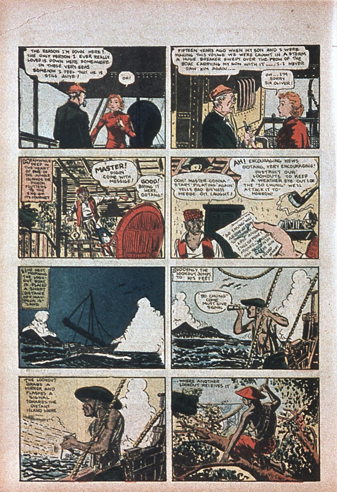 Read online Amazing Man Comics comic -  Issue #7 - 19