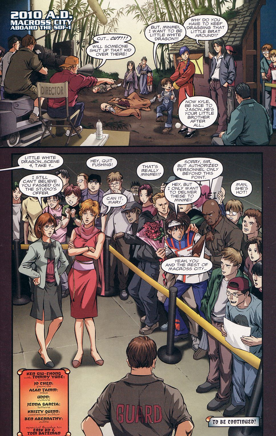 Read online Robotech: Love and War comic -  Issue #1 - 22