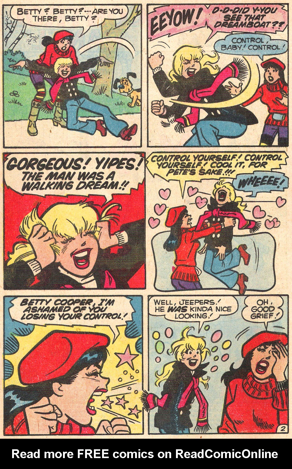 Read online Archie's Girls Betty and Veronica comic -  Issue #278 - 4