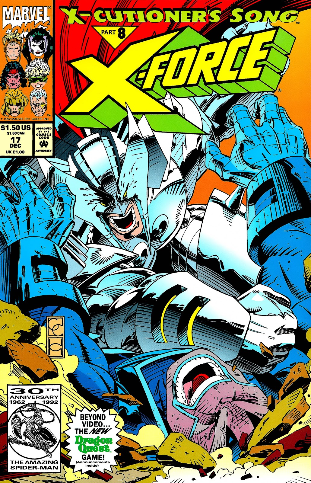 X-Force (1991) 17 Page 1