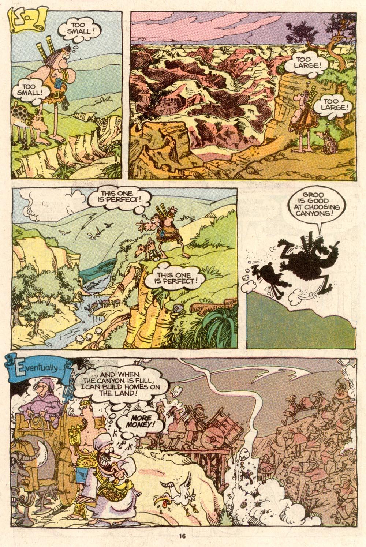 Read online Sergio Aragonés Groo the Wanderer comic -  Issue #65 - 16
