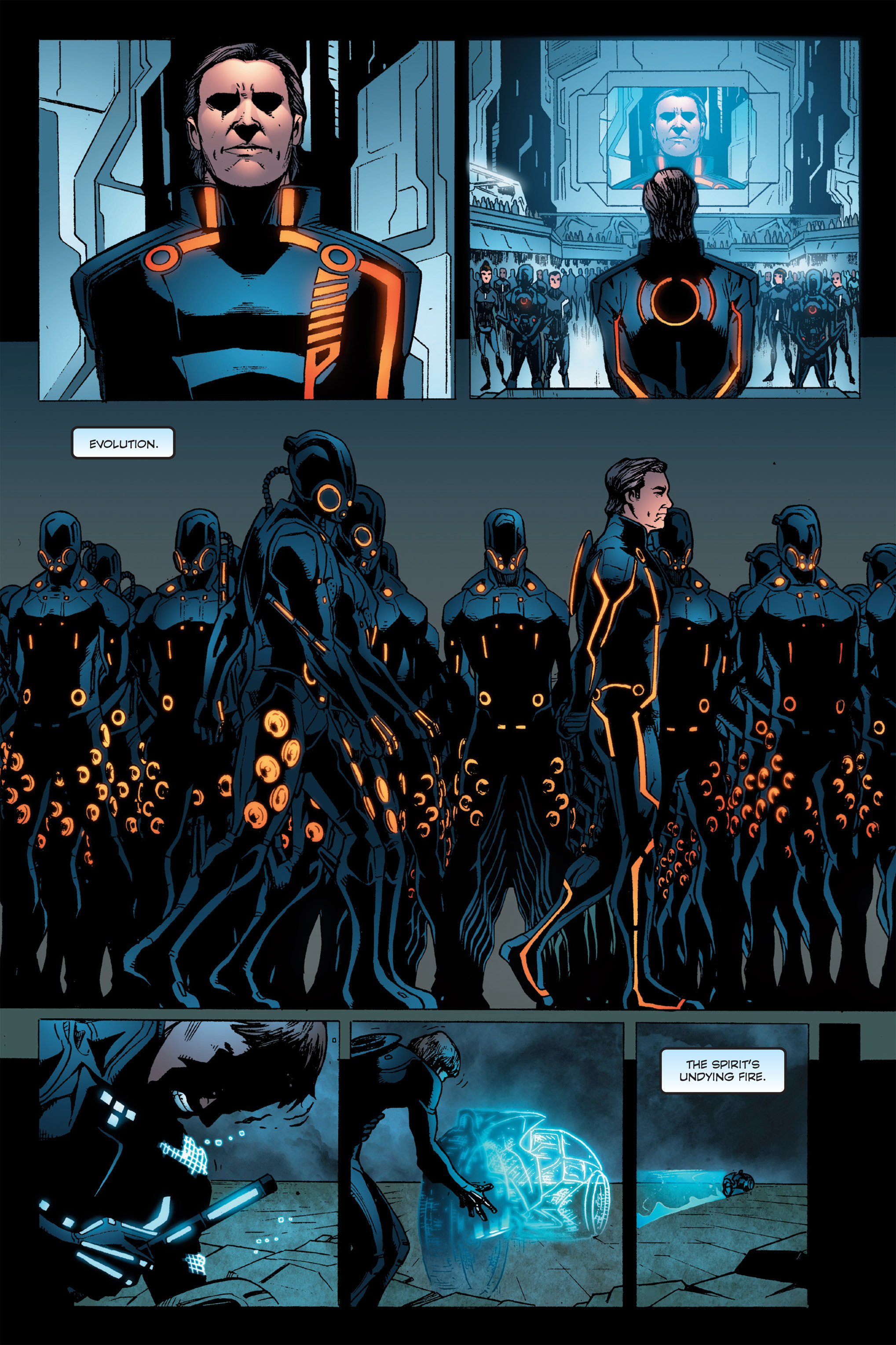 Read online TRON: Betrayal comic -  Issue # TPB - 111