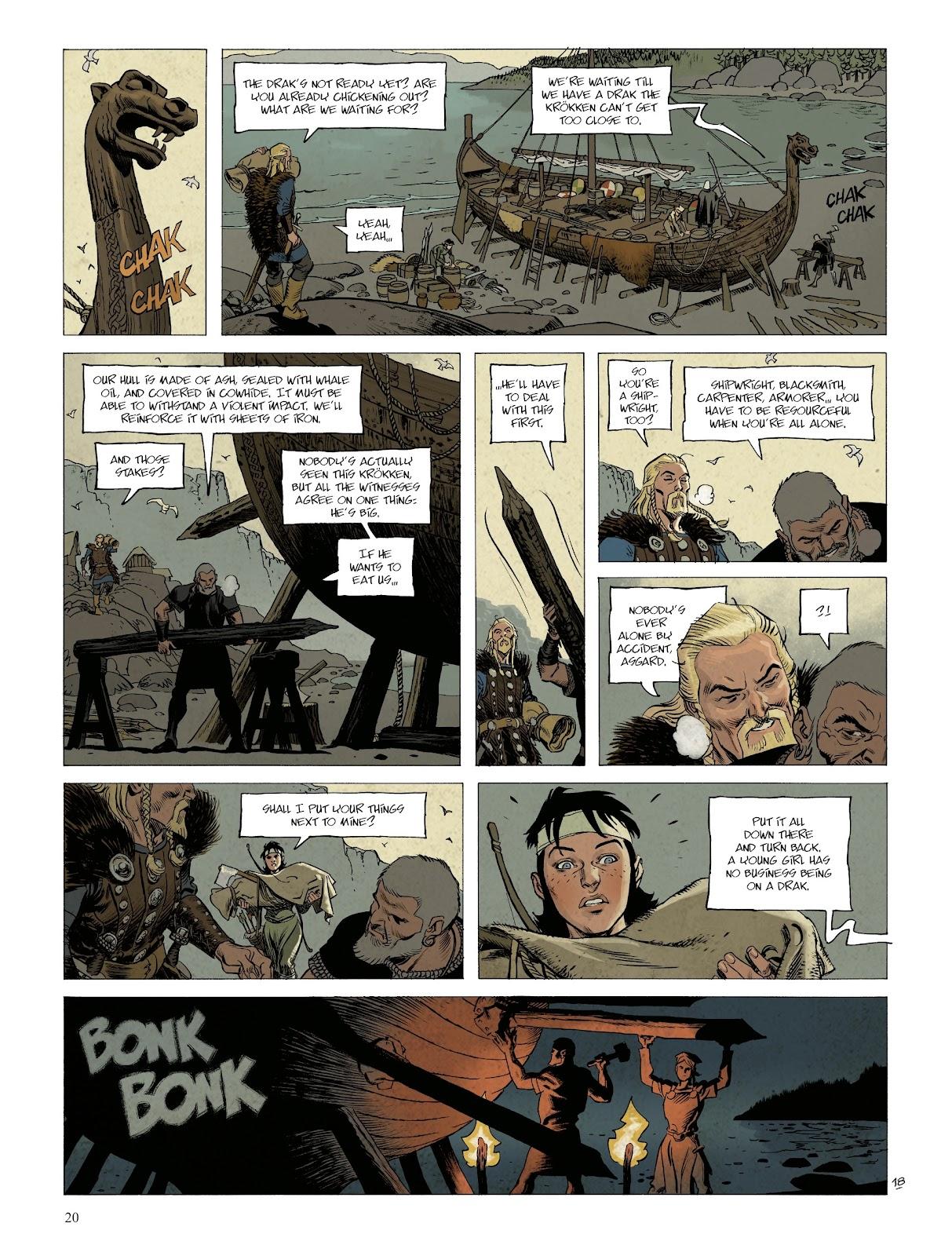 Read online Asgard comic -  Issue #1 - 22