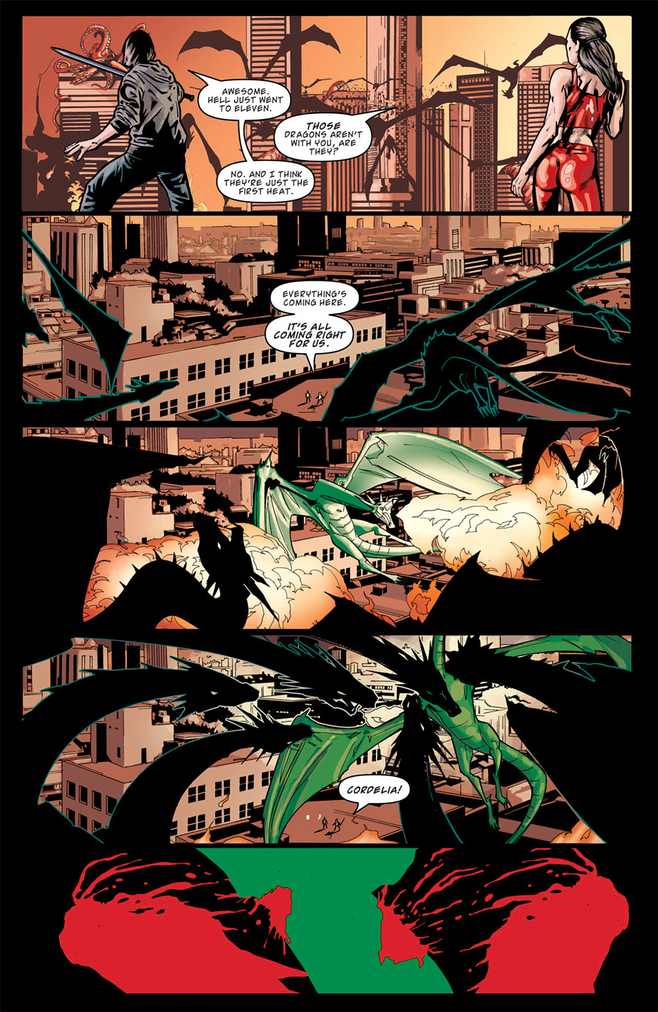 Read online Angel: After The Fall comic -  Issue #13 - 10