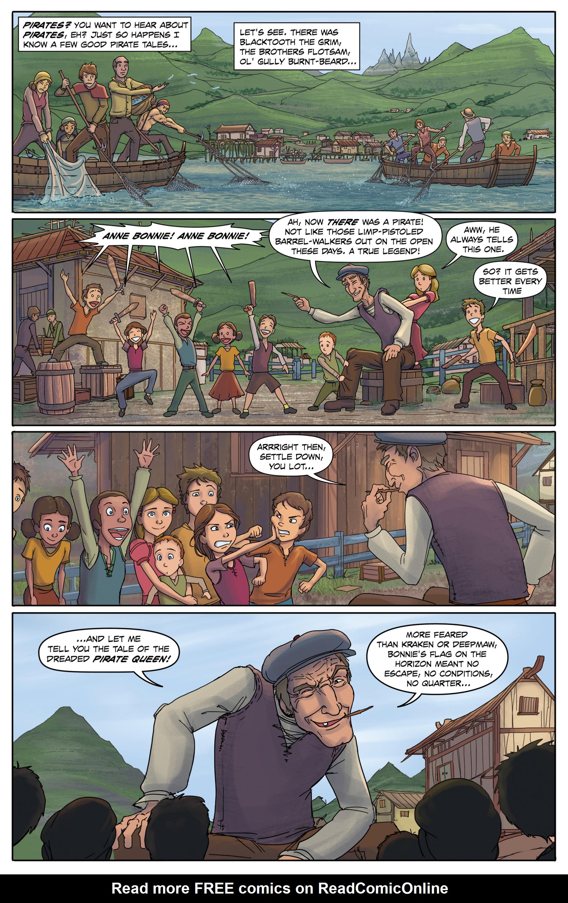 Read online Anne Bonnie comic -  Issue #2 - 3