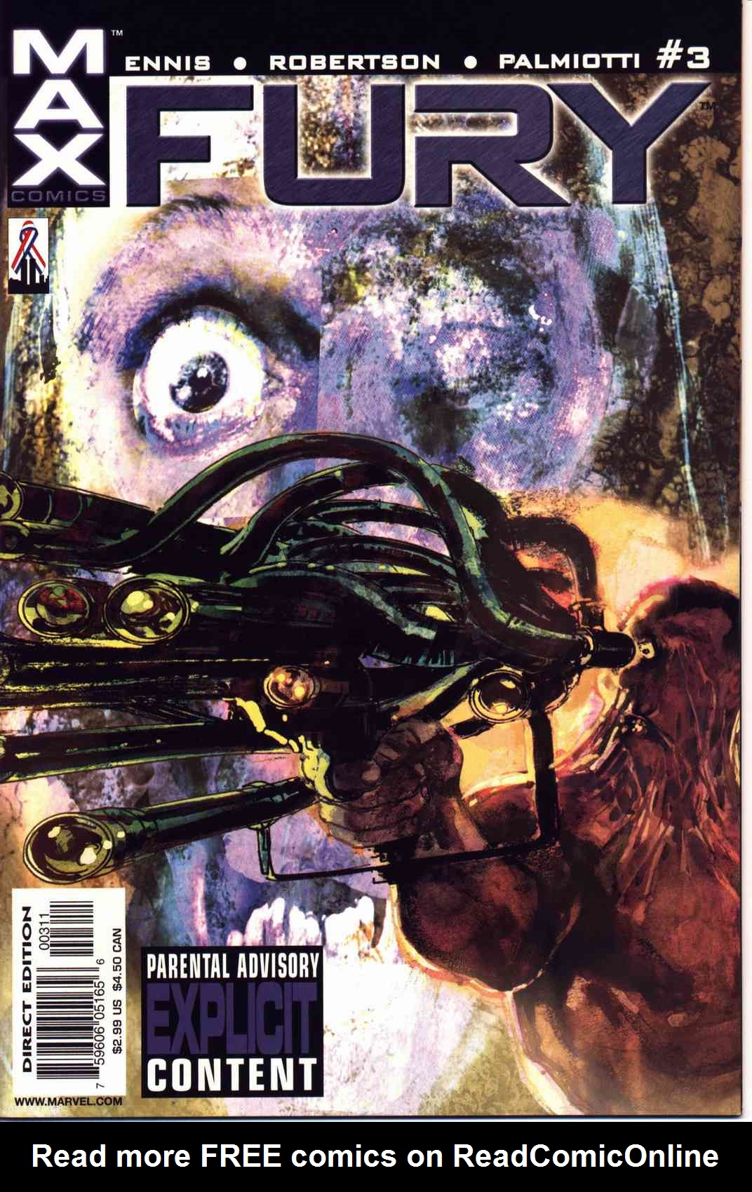 Read online Fury comic -  Issue #3 - 1