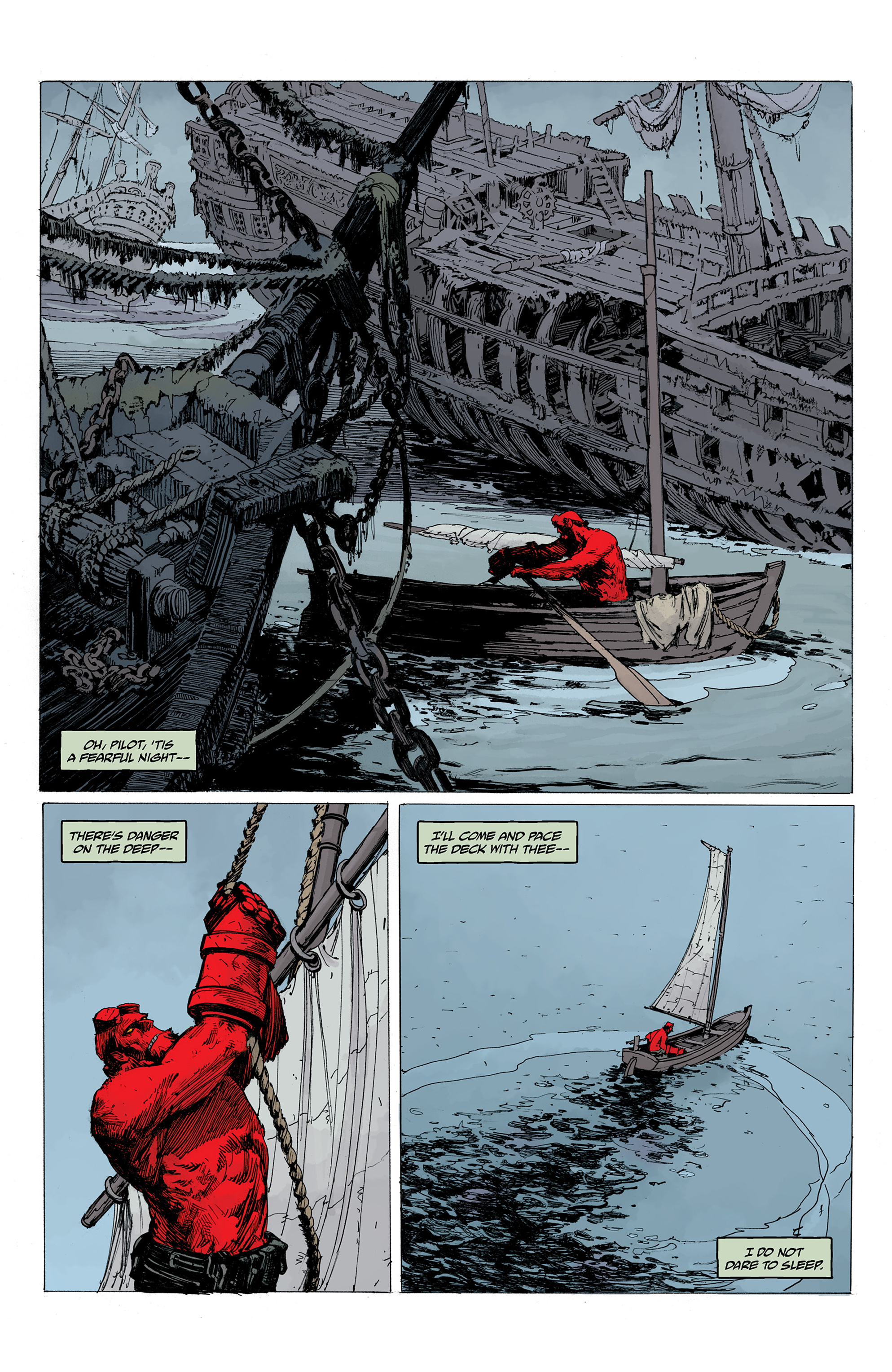 Read online Hellboy: Into the Silent Sea comic -  Issue # Full - 10