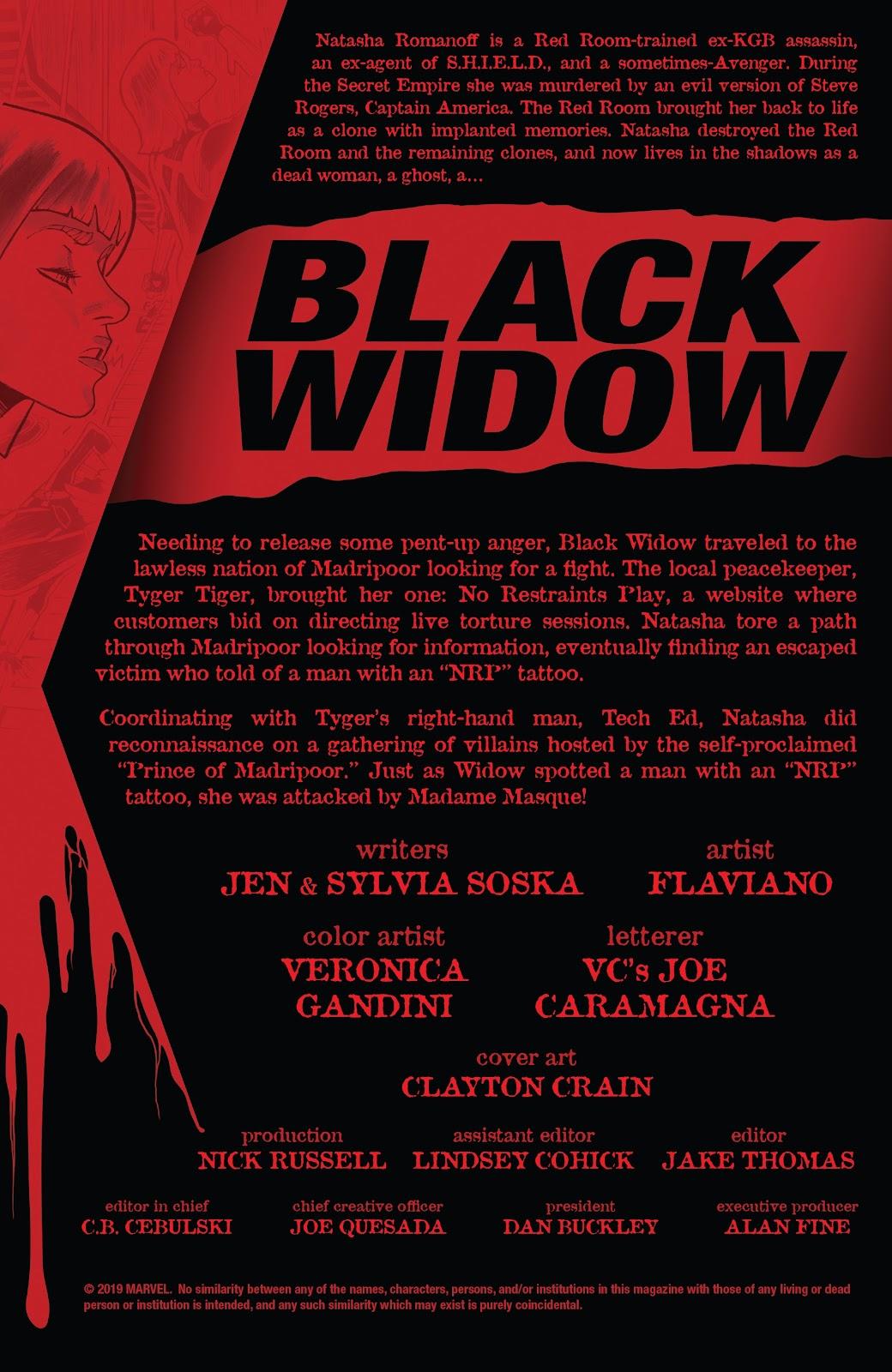 Read online Black Widow (2019) comic -  Issue #3 - 2