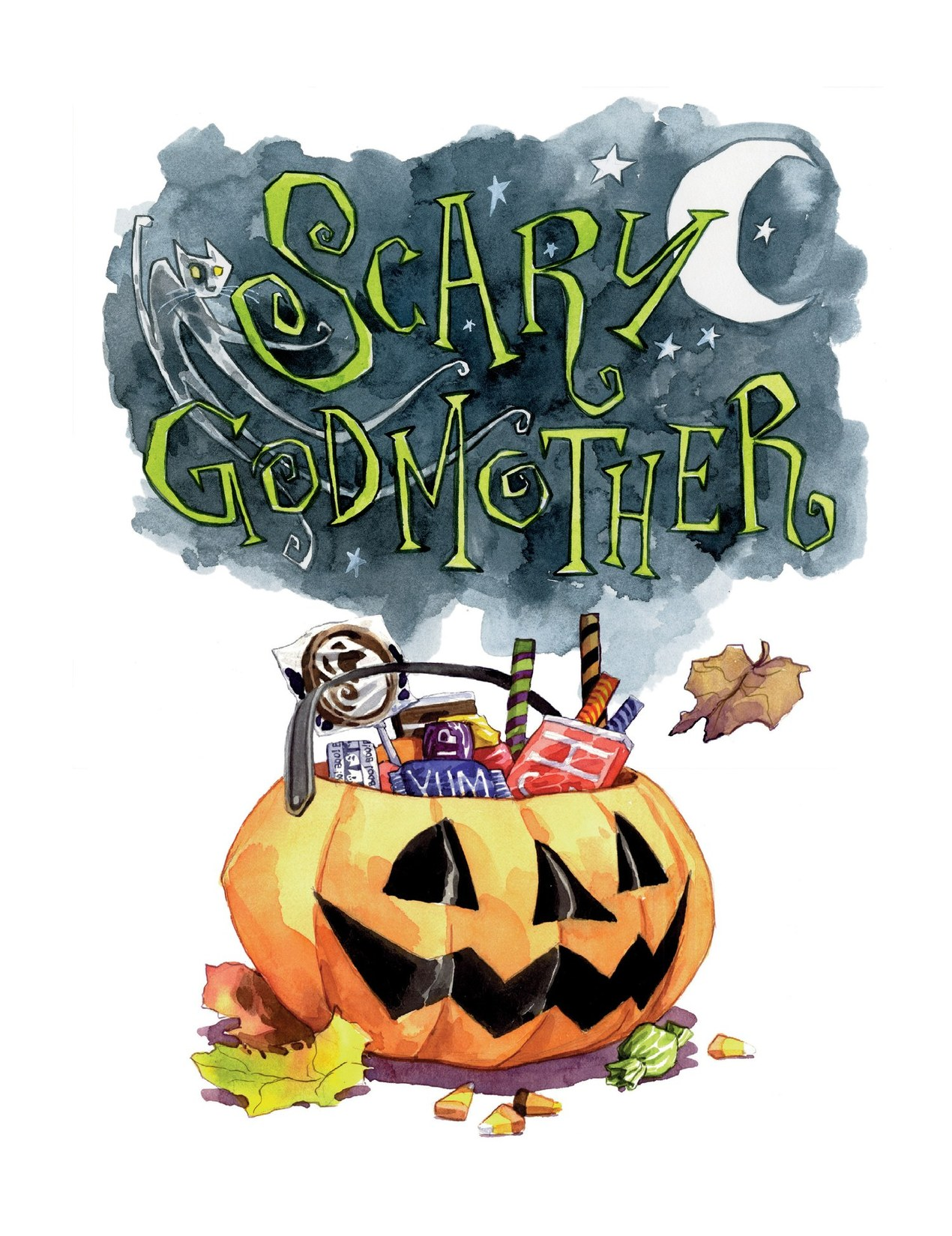 Read online Scary Godmother comic -  Issue # TPB - 7