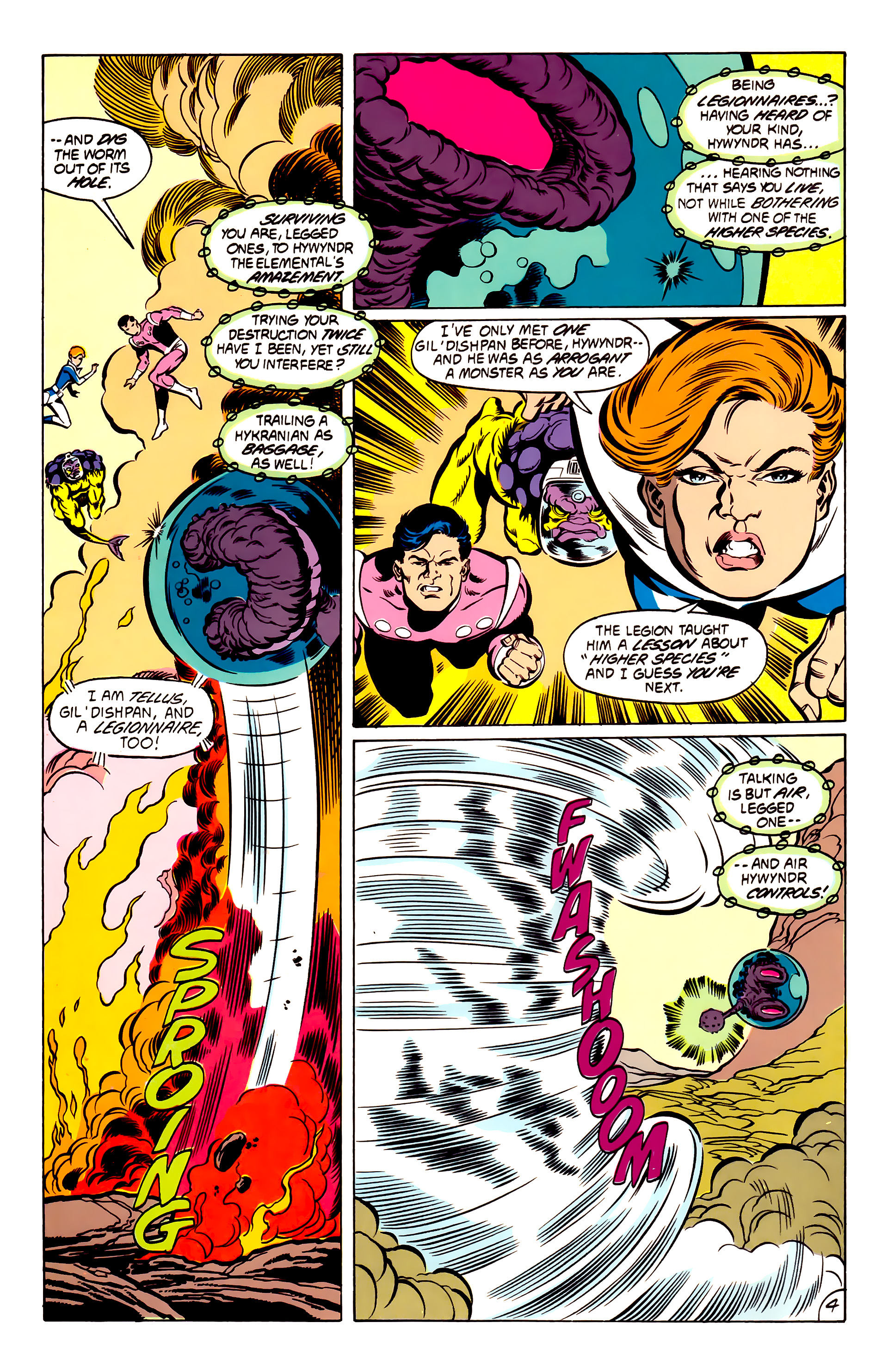 Legion of Super-Heroes (1984) 53 Page 4