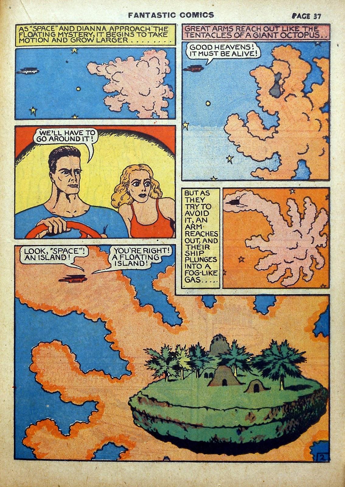 Read online Fantastic Comics comic -  Issue #5 - 38