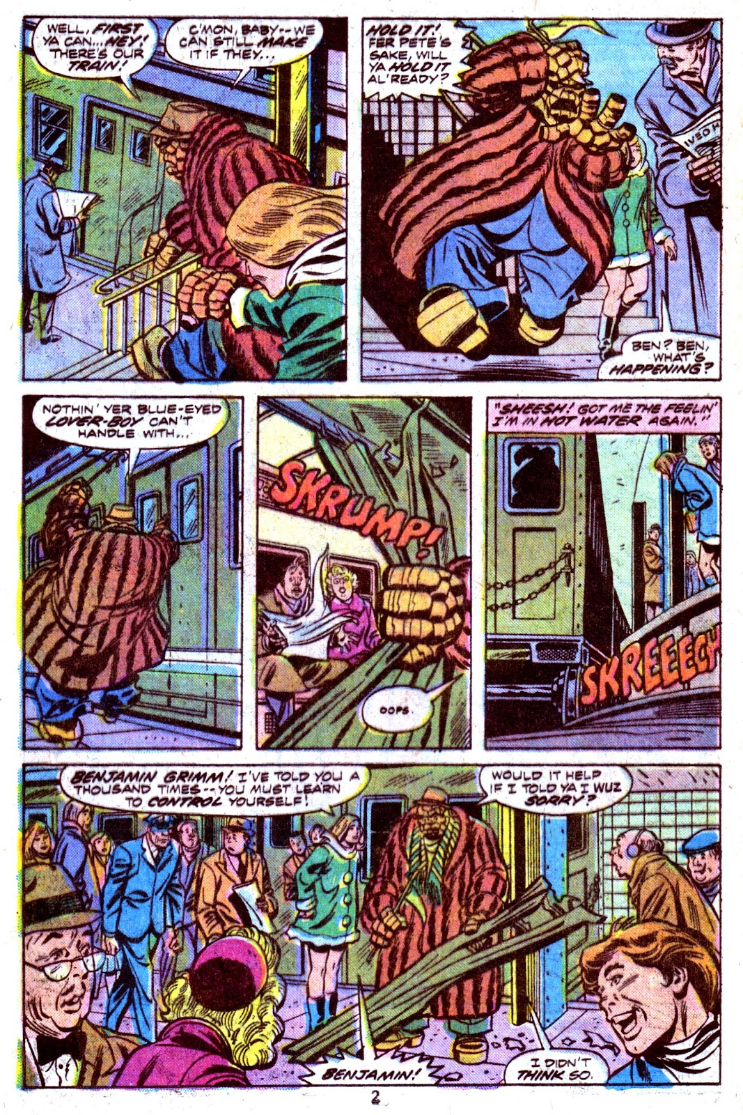 Giant-Size Fantastic Four issue 4 - Page 4