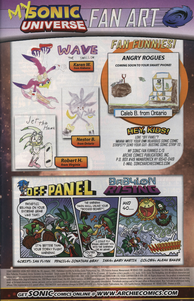 Read online Sonic Universe comic -  Issue #34 - 33