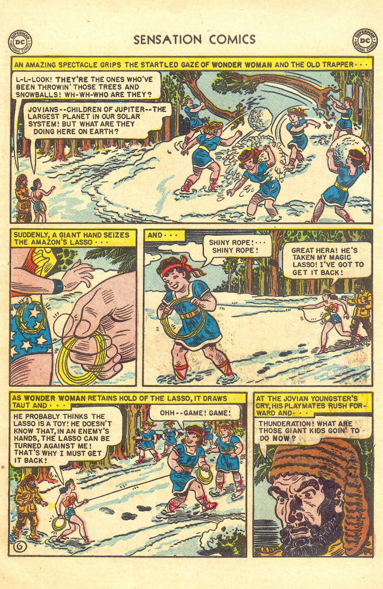 Read online Sensation (Mystery) Comics comic -  Issue #105 - 8