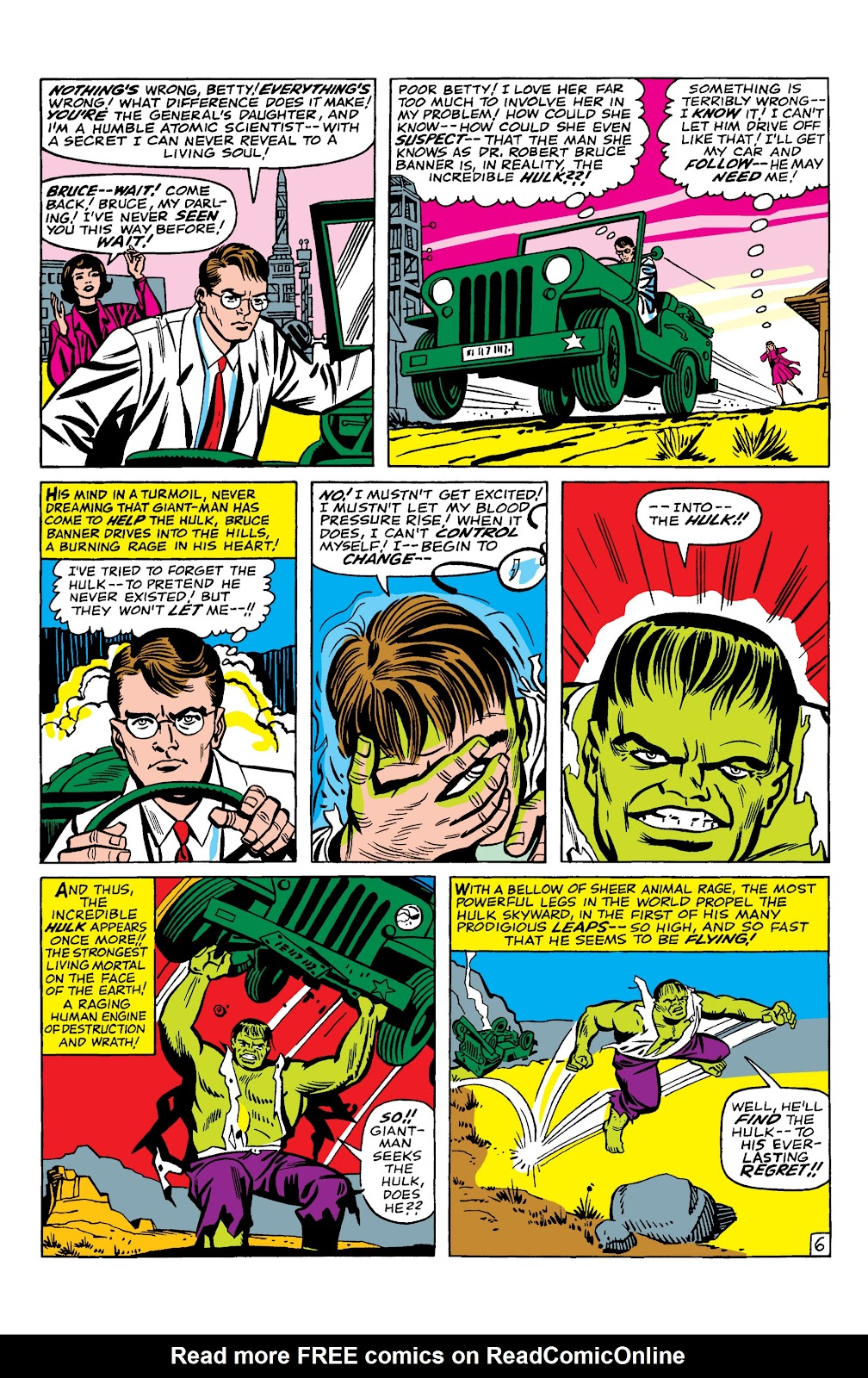 Read online Marvel Masterworks: The Incredible Hulk comic -  Issue # TPB 2 (Part 1) - 9