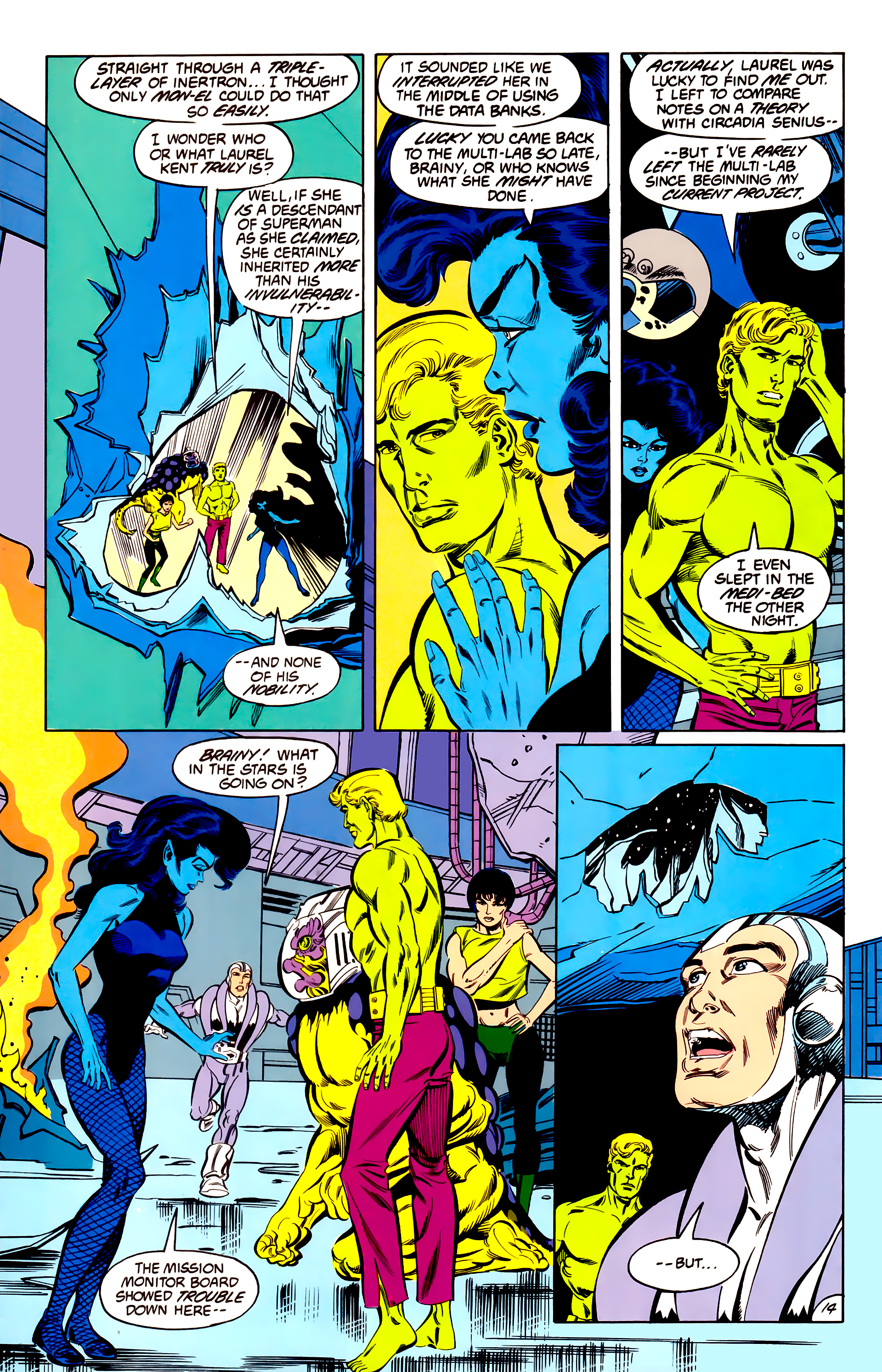 Legion of Super-Heroes (1984) 42 Page 14