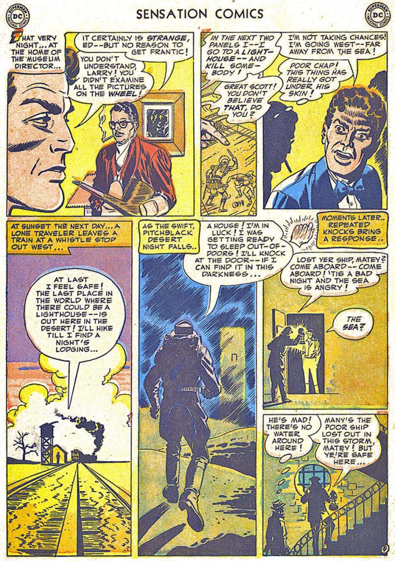 Read online Sensation (Mystery) Comics comic -  Issue #108 - 7