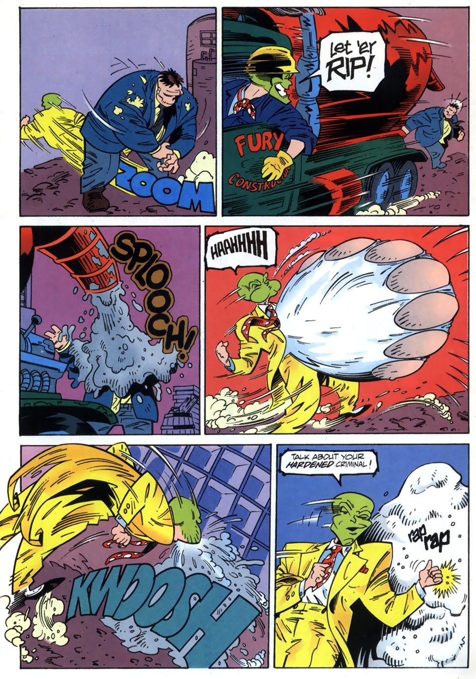 Read online Adventures Of The Mask comic -  Issue #2 - 11