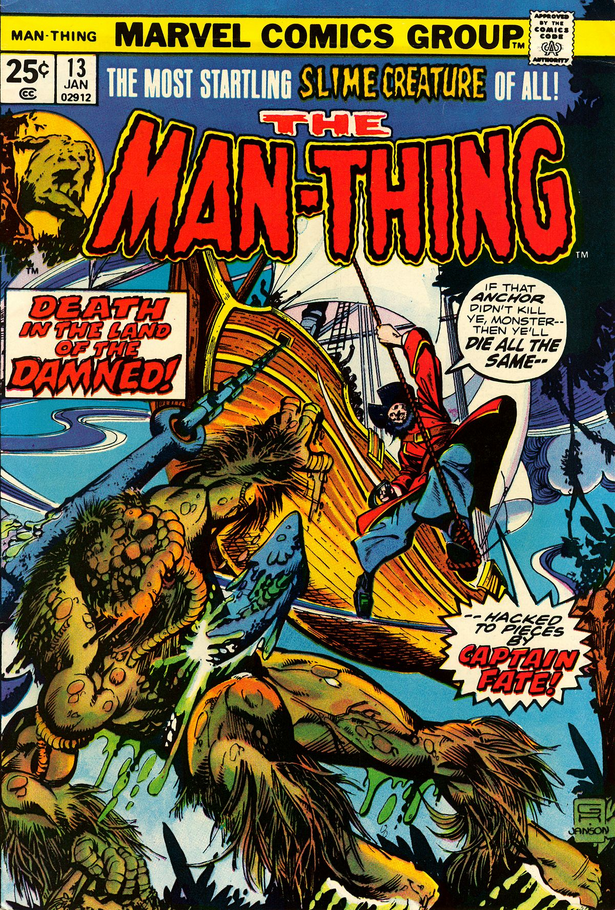 Man-Thing (1974) 13 Page 1