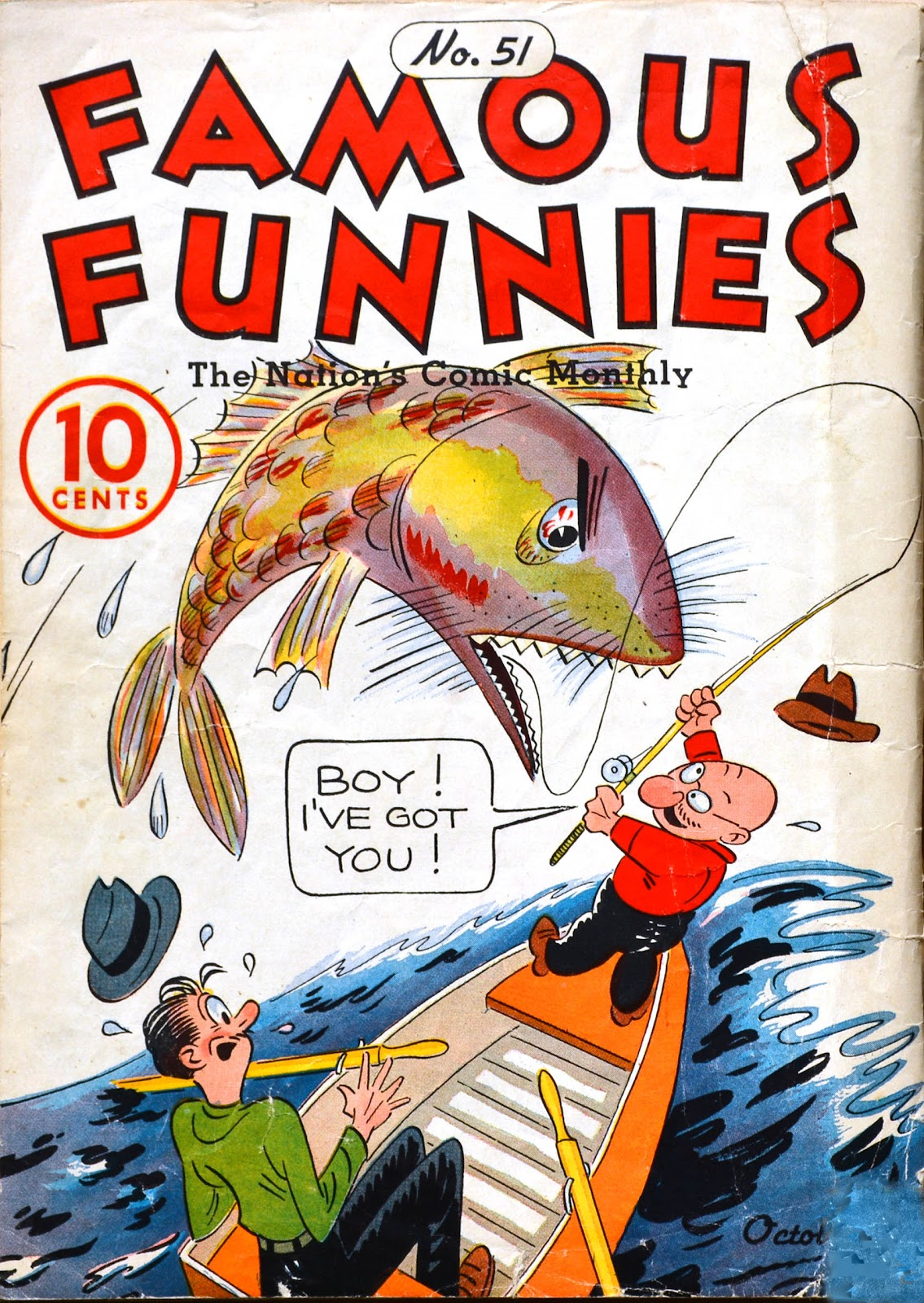 Read online Famous Funnies comic -  Issue #51 - 67