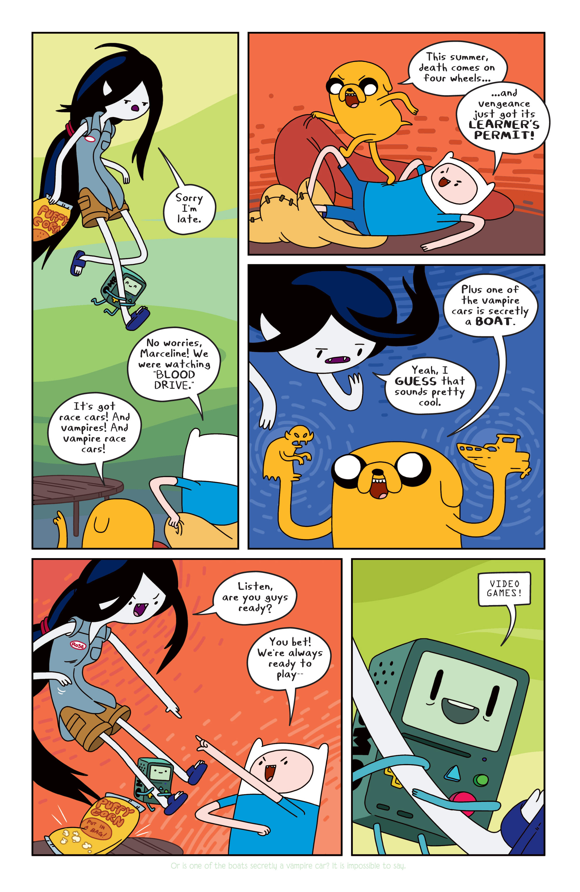 Read online Adventure Time comic -  Issue #11 - 8