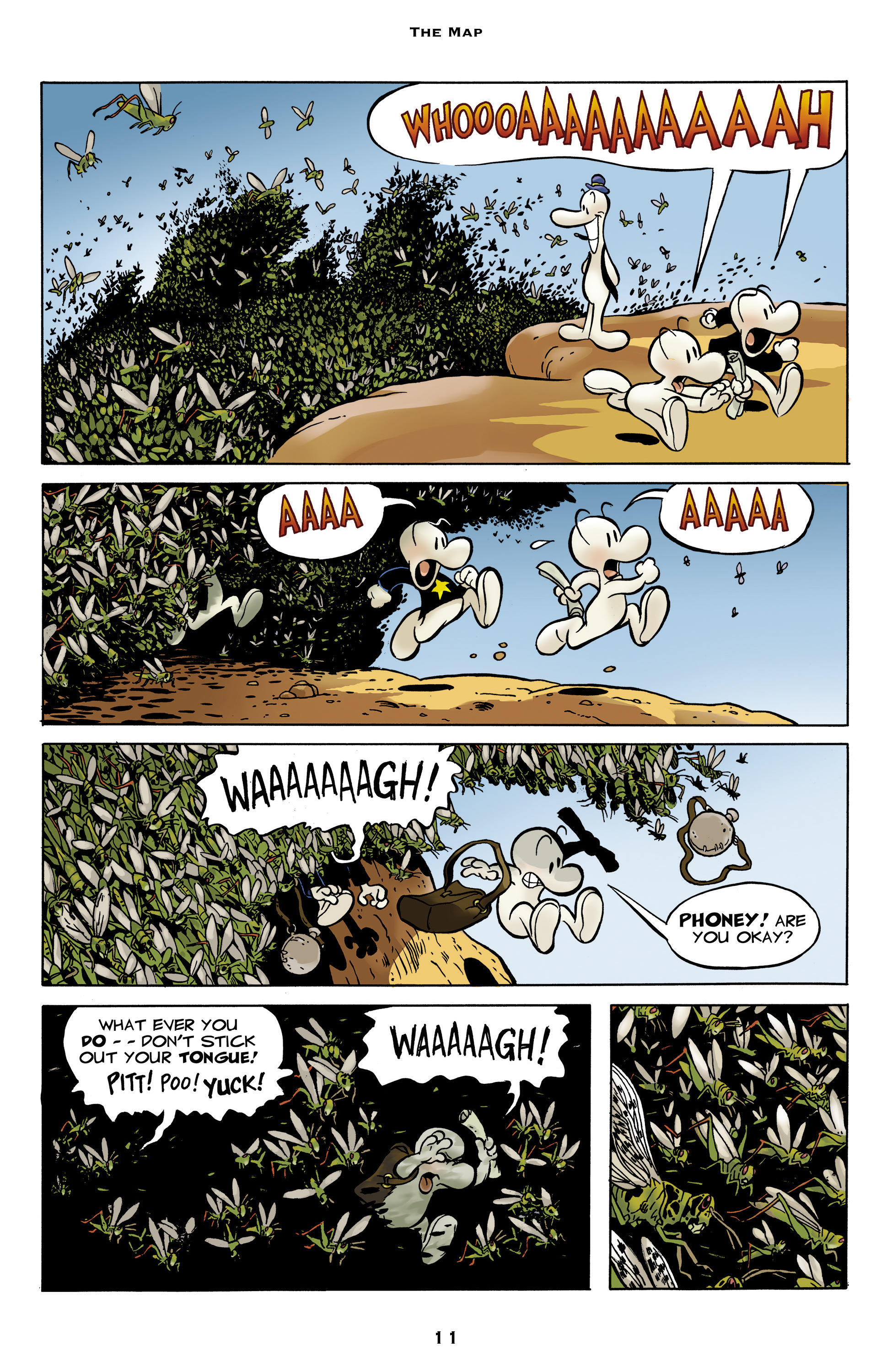 Read online Bone: Out From Boneville comic -  Issue # TPB - 11