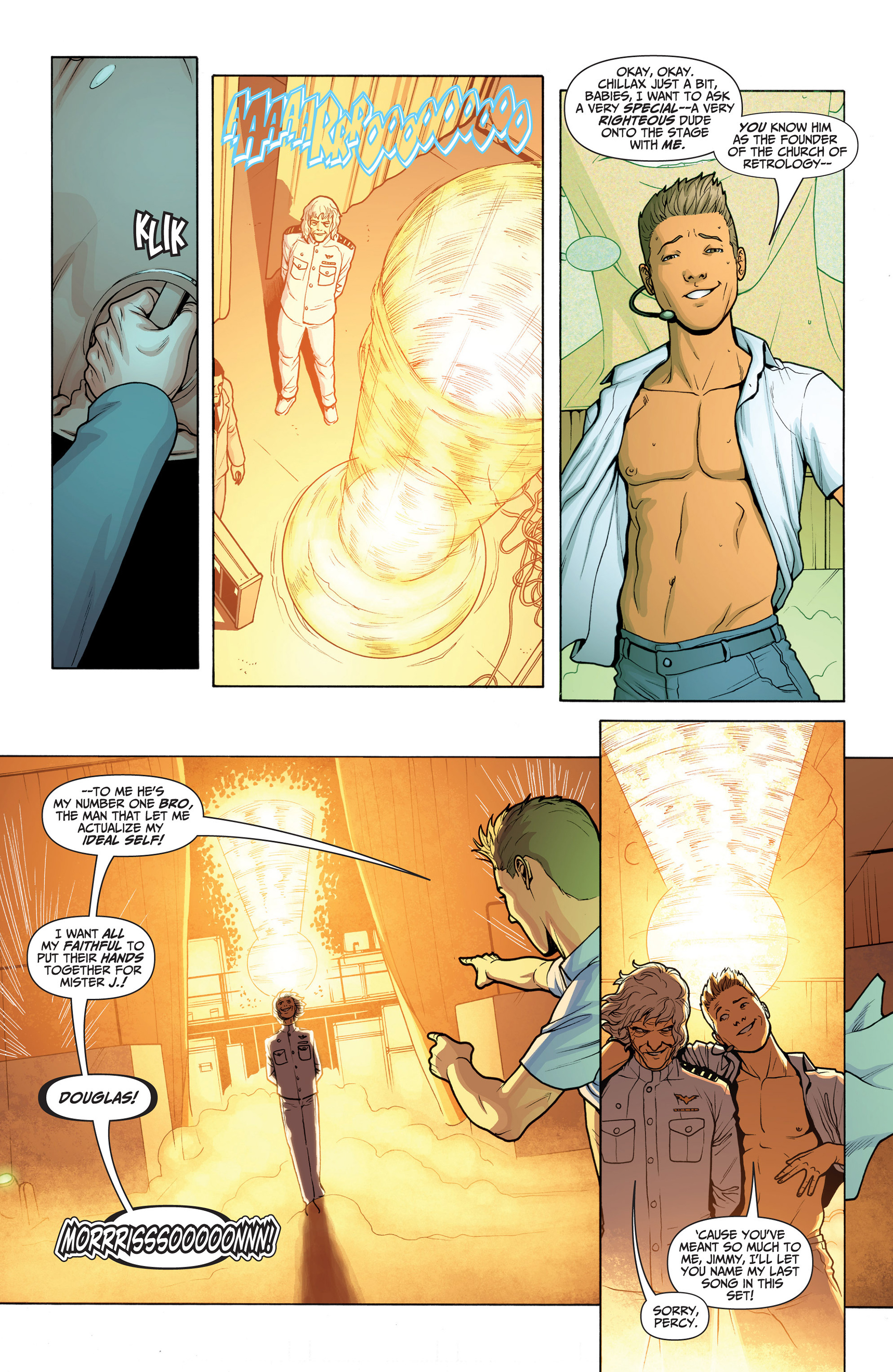 Read online Archer and Armstrong comic -  Issue #23 - 10