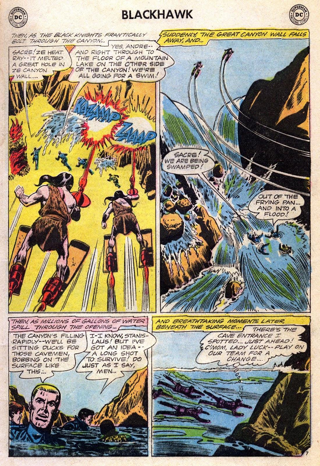 Blackhawk (1957) Issue #189 #82 - English 9