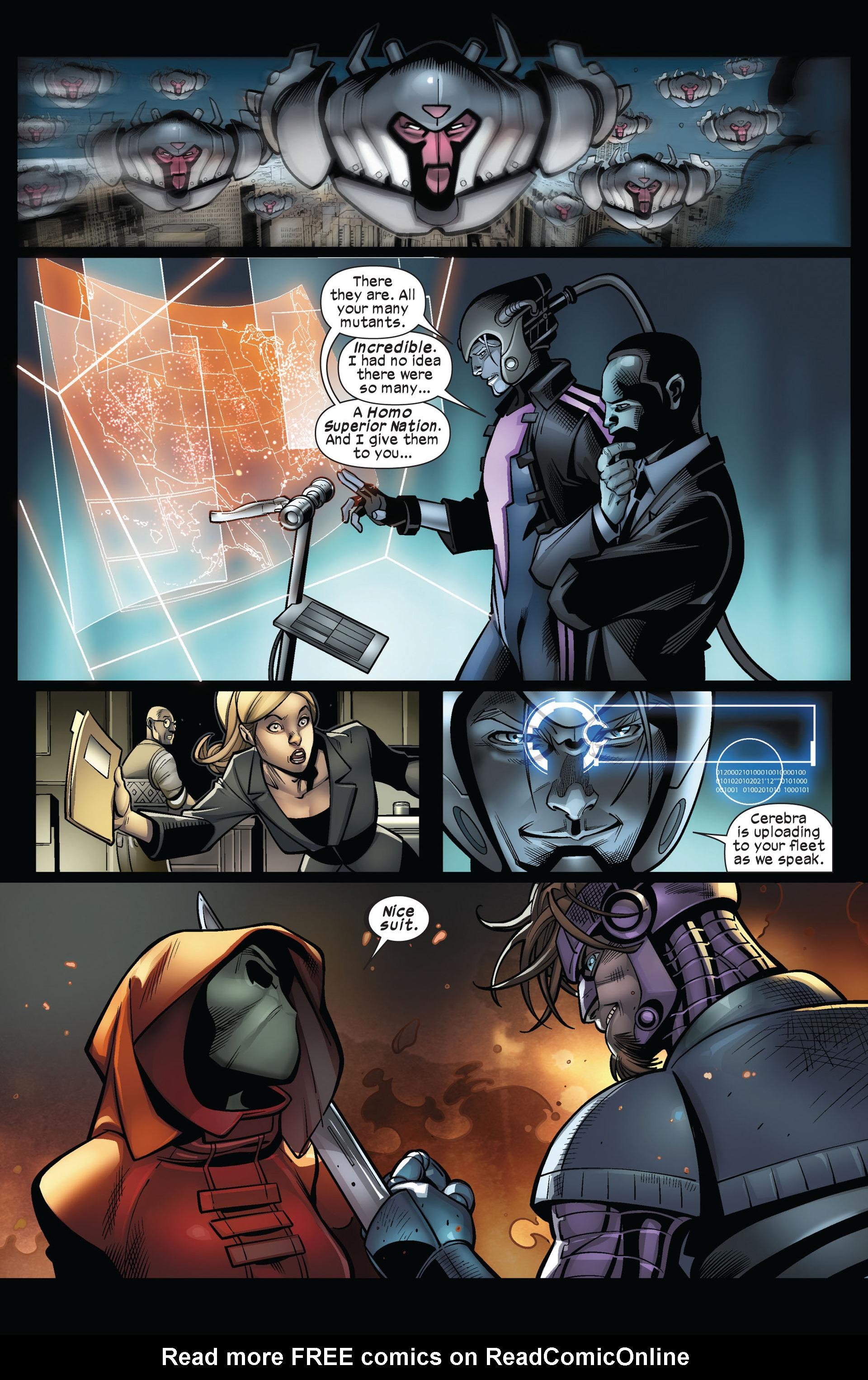Read online Ultimate Comics X-Men comic -  Issue #5 - 20