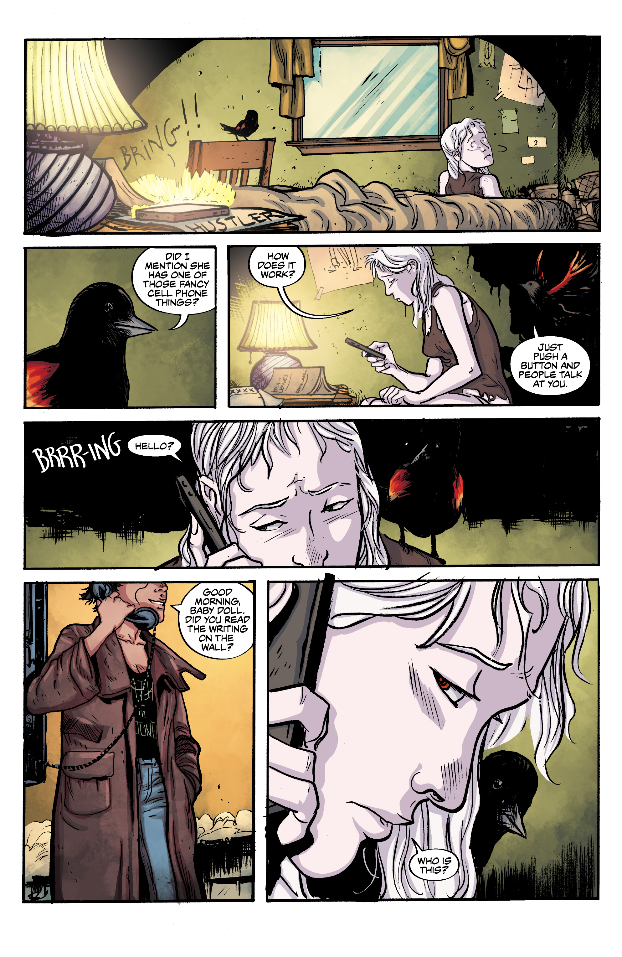 Read online Alabaster: The Good, the Bad and the Bird comic -  Issue #4 - 8