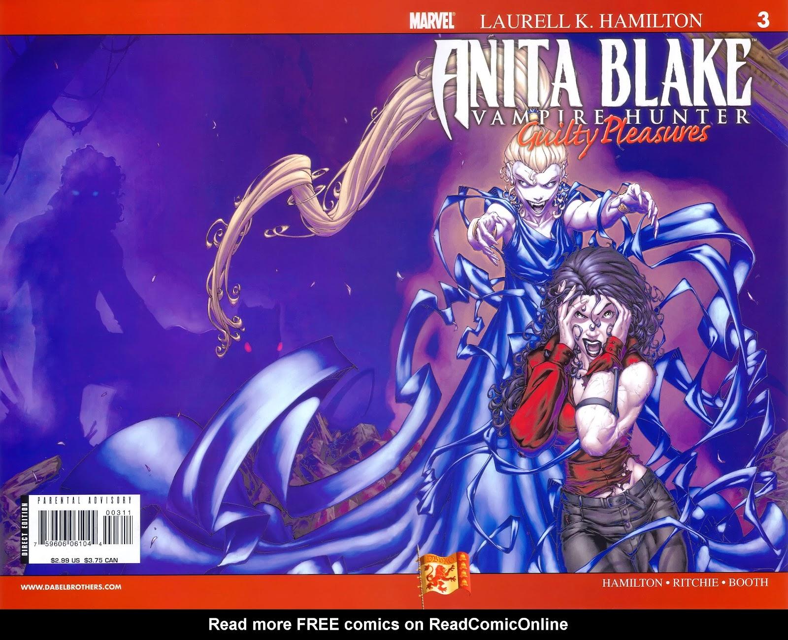 Anita Blake, Vampire Hunter: Guilty Pleasures issue 3 - Page 1