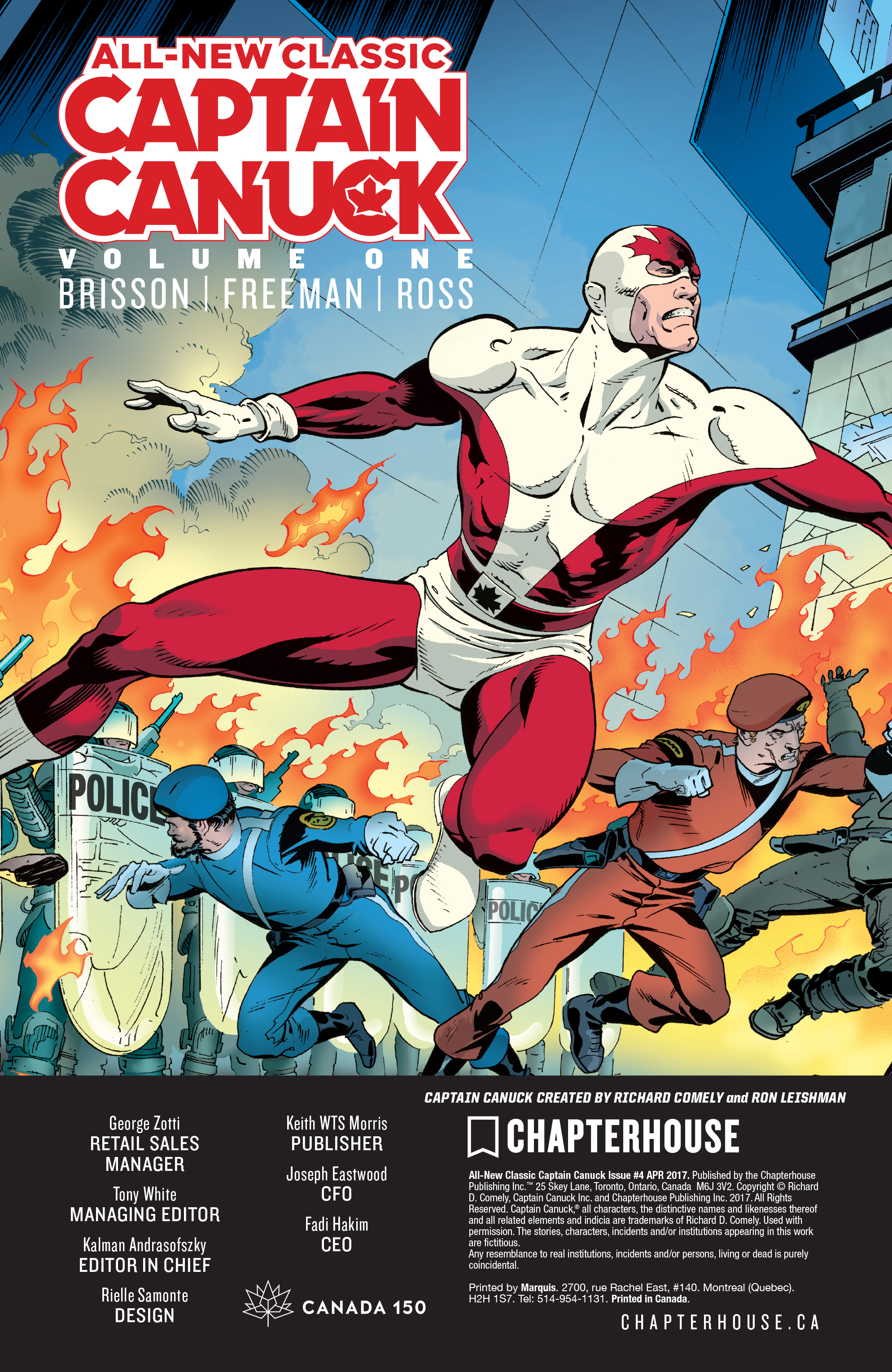Read online All-New Classic Captain Canuck comic -  Issue #4 - 23